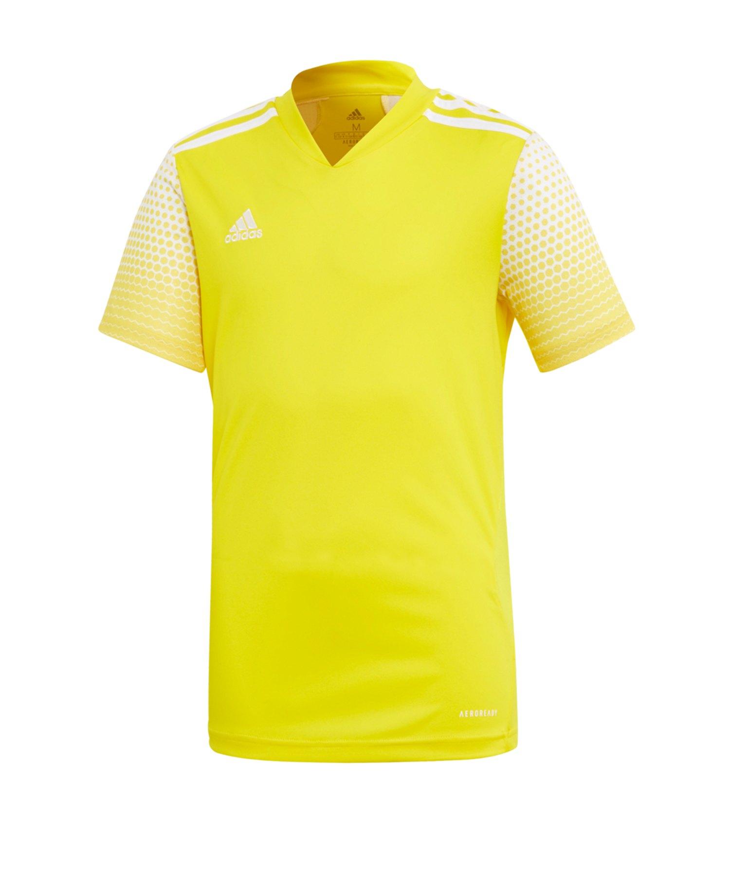 adidas Regista 20 Trikot kurzarm Kids Gelb Weiss - gelb