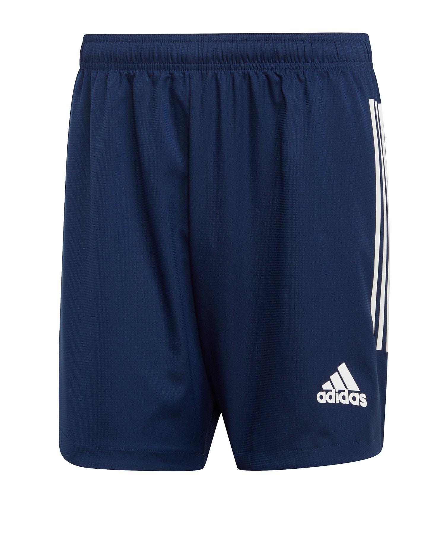 adidas Condivo 20 Short Dunkelblau Weiss - blau