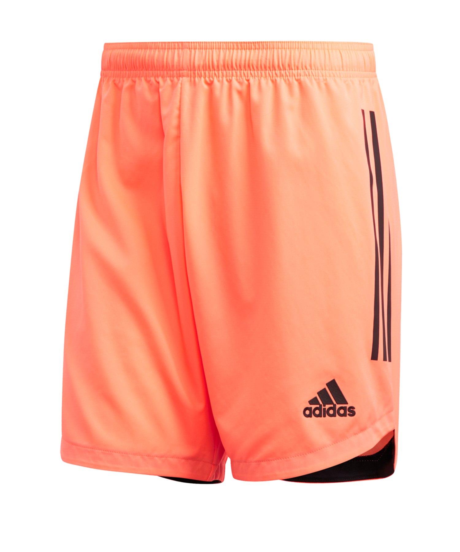 adidas Condivo 20 Short Orange Schwarz - orange