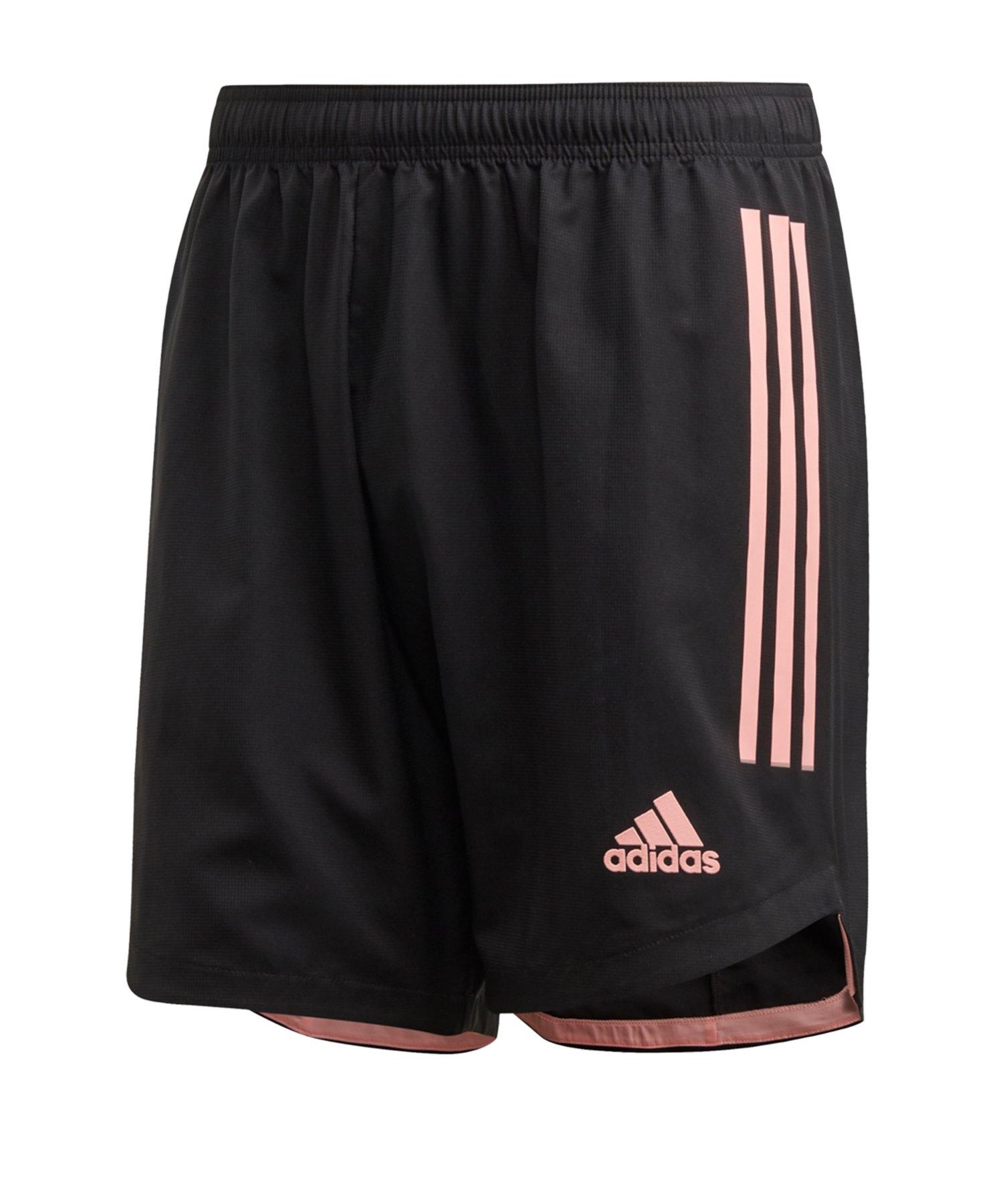 adidas Condivo 20 Short Schwarz Pink - schwarz