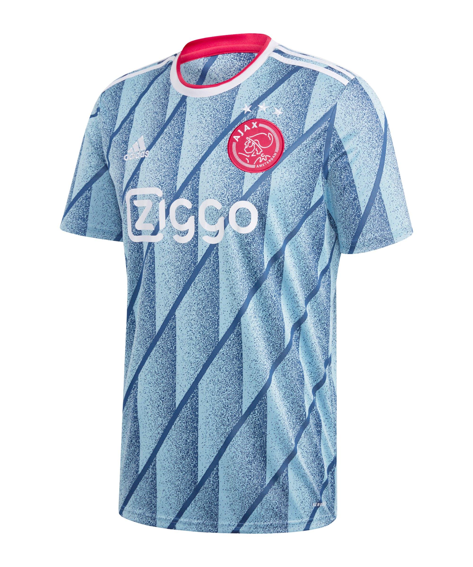 adidas Ajax Amsterdam Trikot Away 2020/2021 Blau - blau