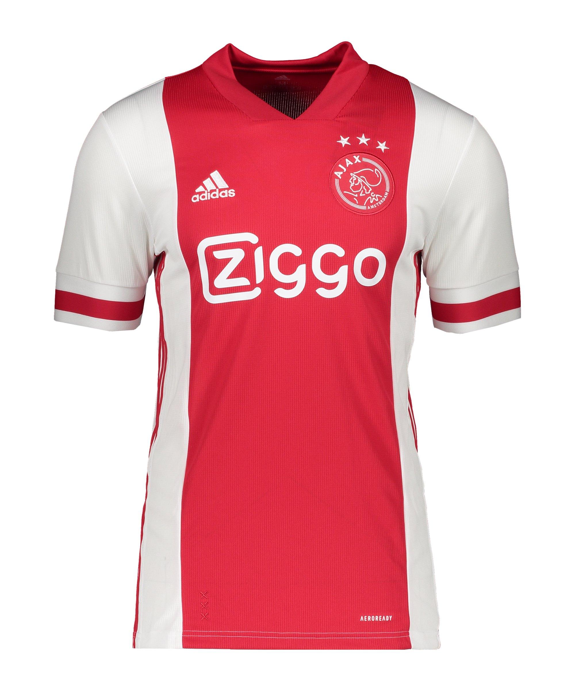 adidas Ajax Amsterdam Trikot Home 2020/2021 Weiss - weiss