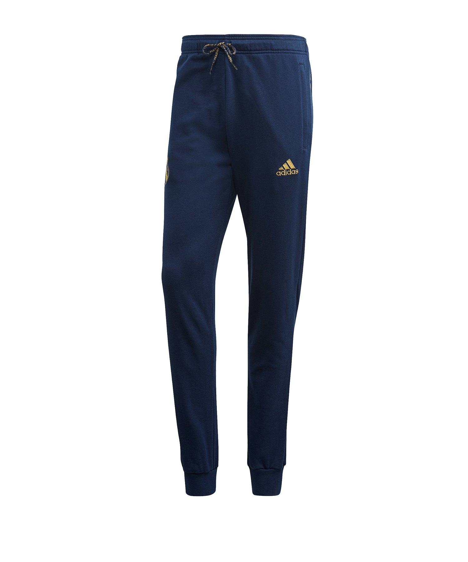 adidas Real Madrid CNY Sweatpant Hose Blau - blau