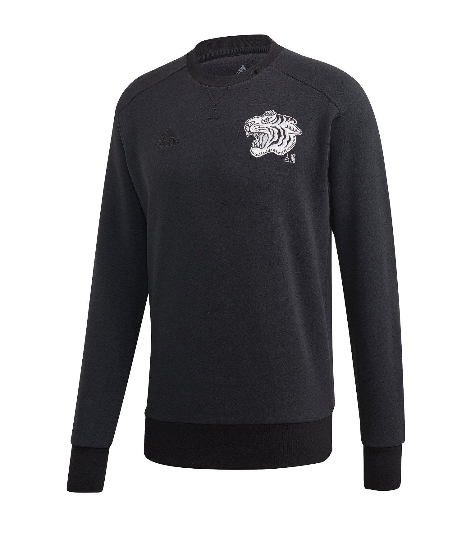 adidas Juventus Turin CNY Sweater Schwarz - schwarz
