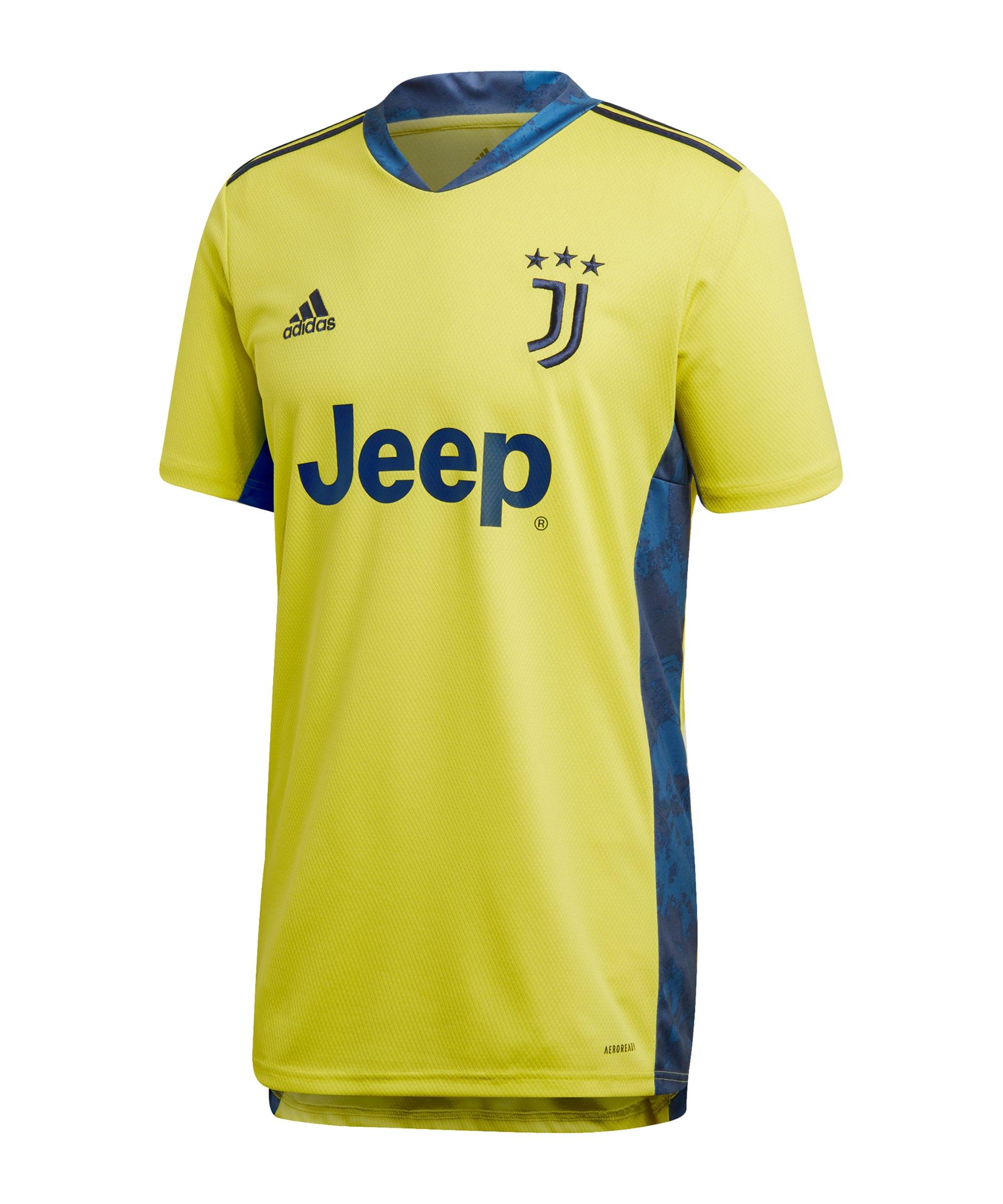 adidas Juventus Turin Torwarttrikot 2020/2021 Gelb - gelb