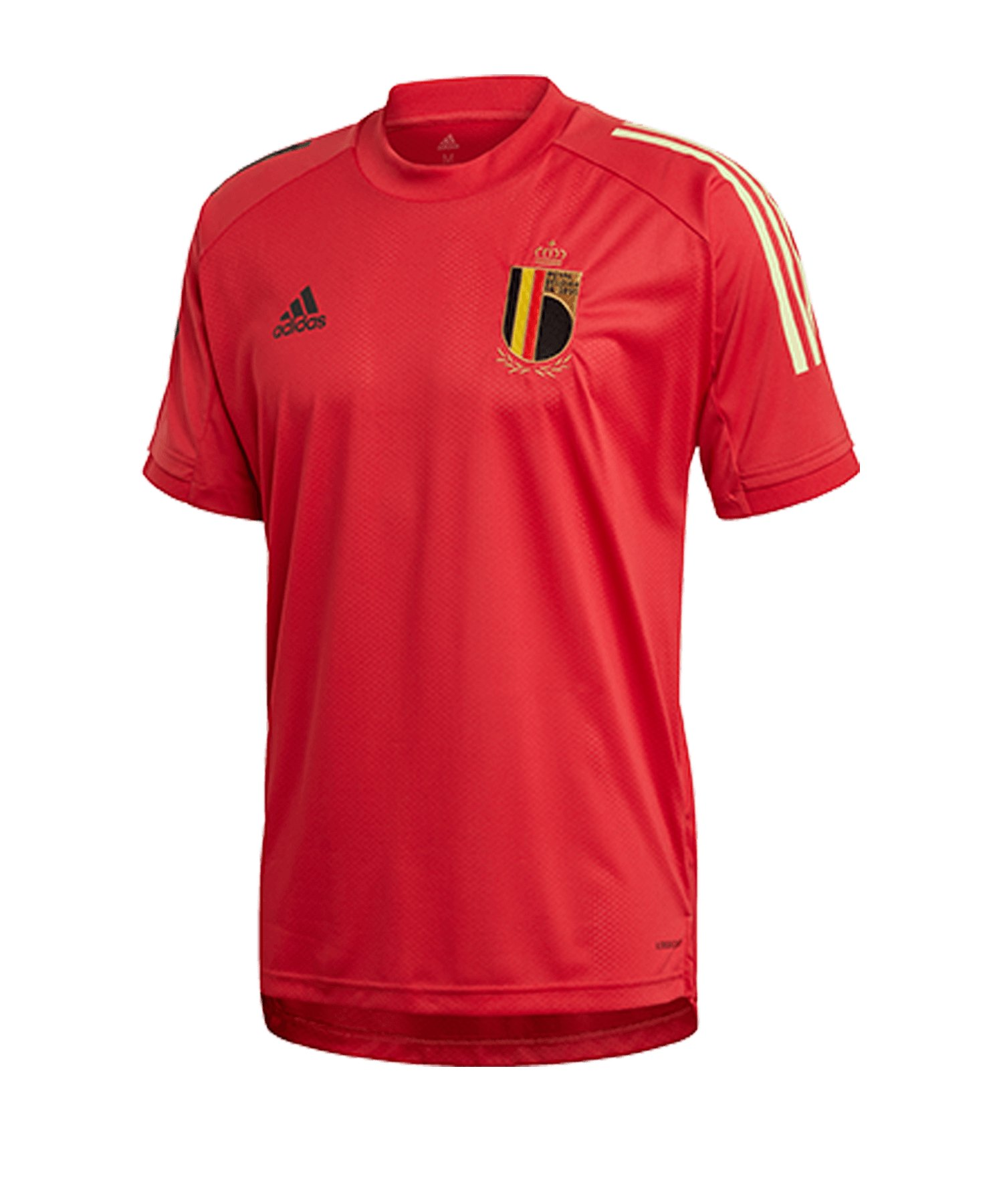adidas Belgien Trainingsshirt Rot - rot