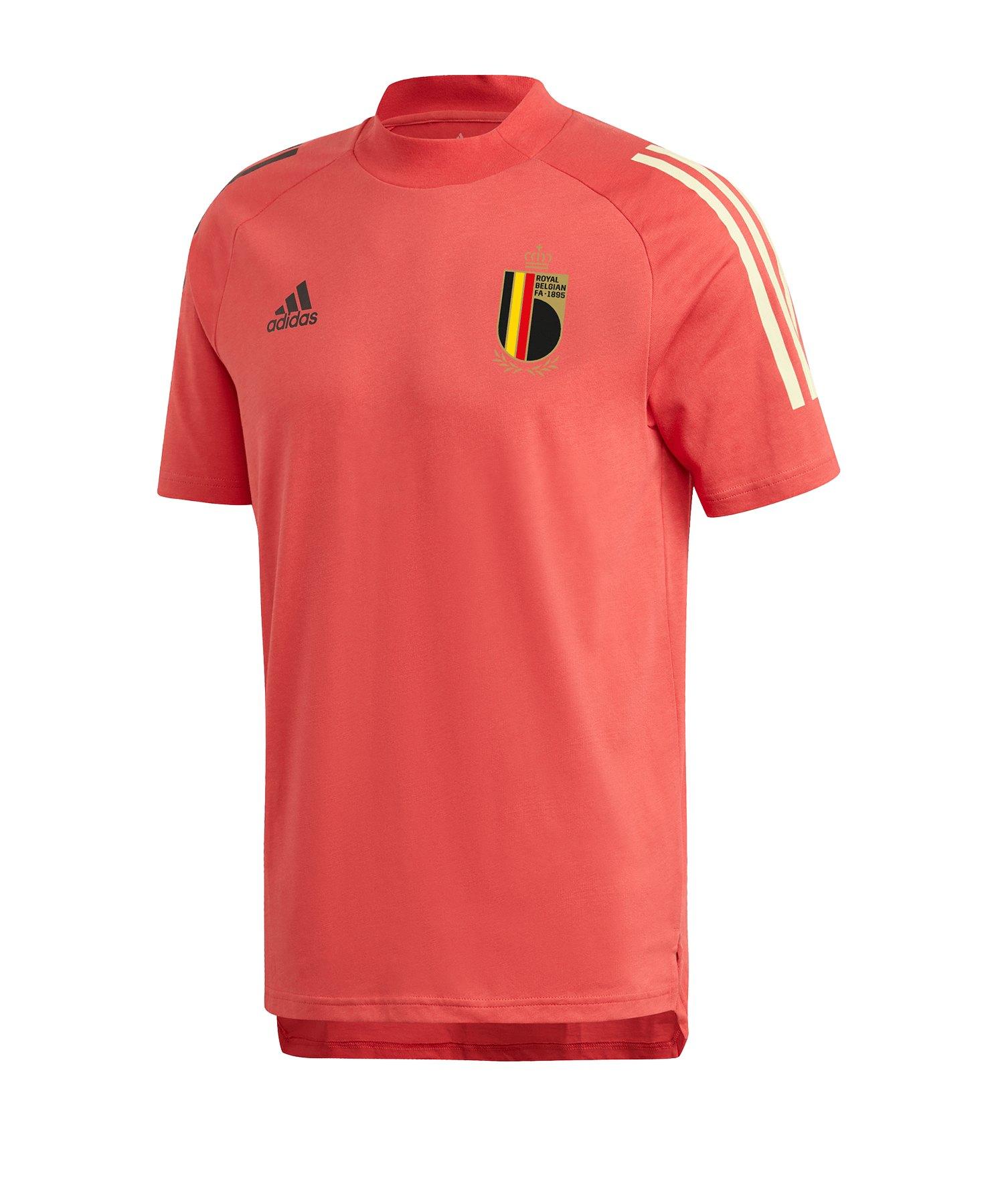 adidas Belgien Tee T-Shirt Rot - rot