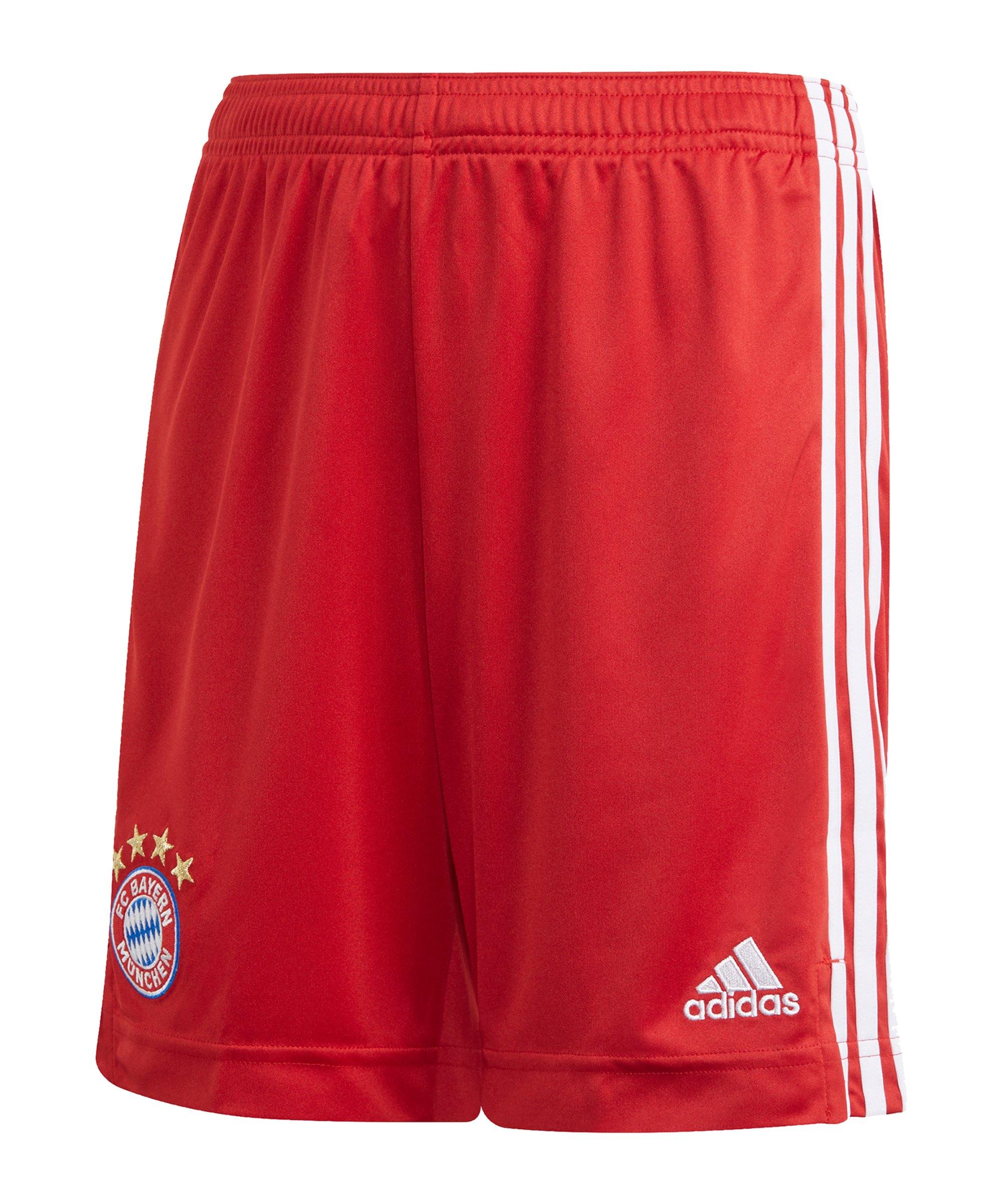 adidas FC Bayern München Short Home 2020/2021 Kids - rot