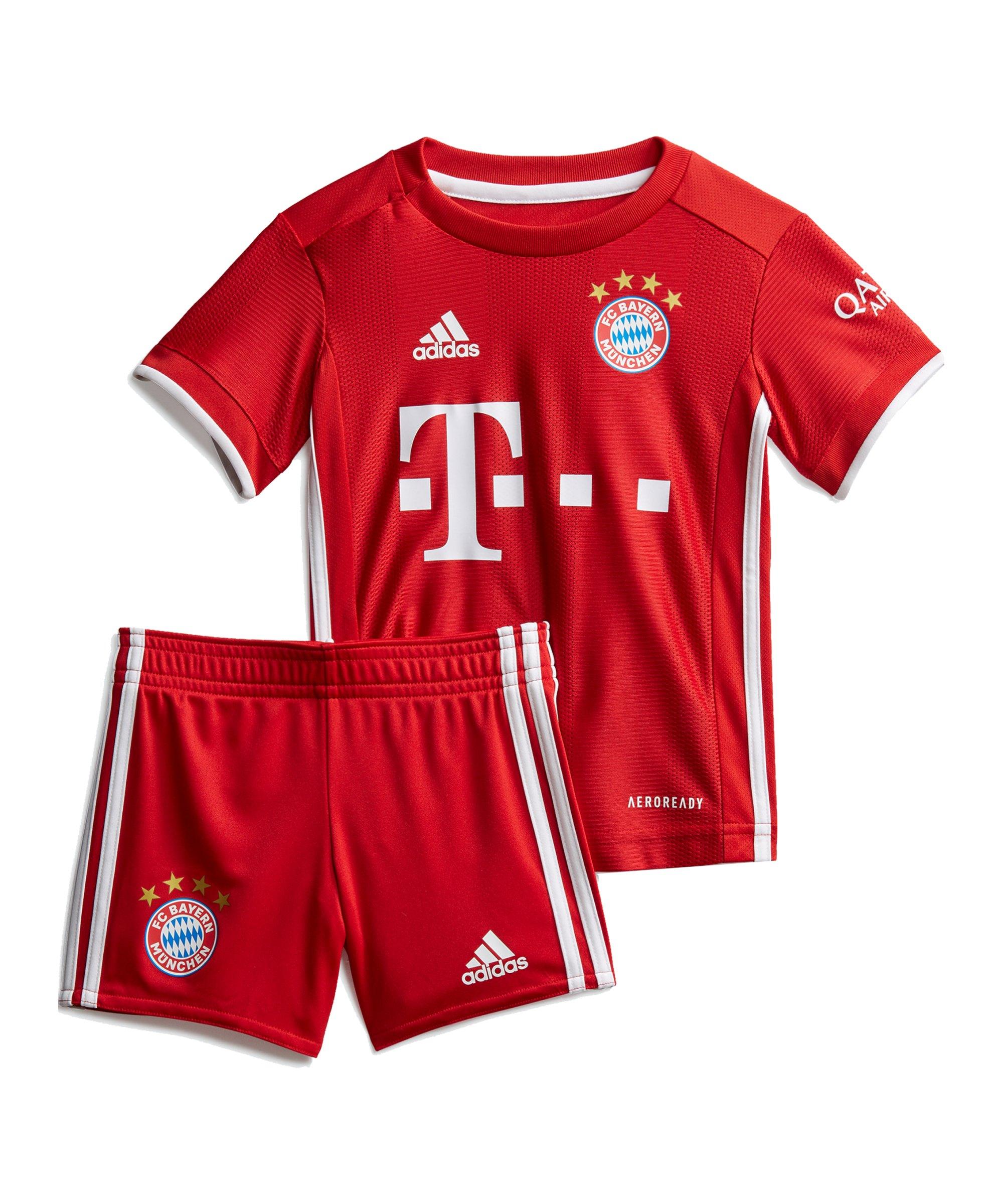 adidas FC Bayern München Babykit Home 2020/2021 - rot