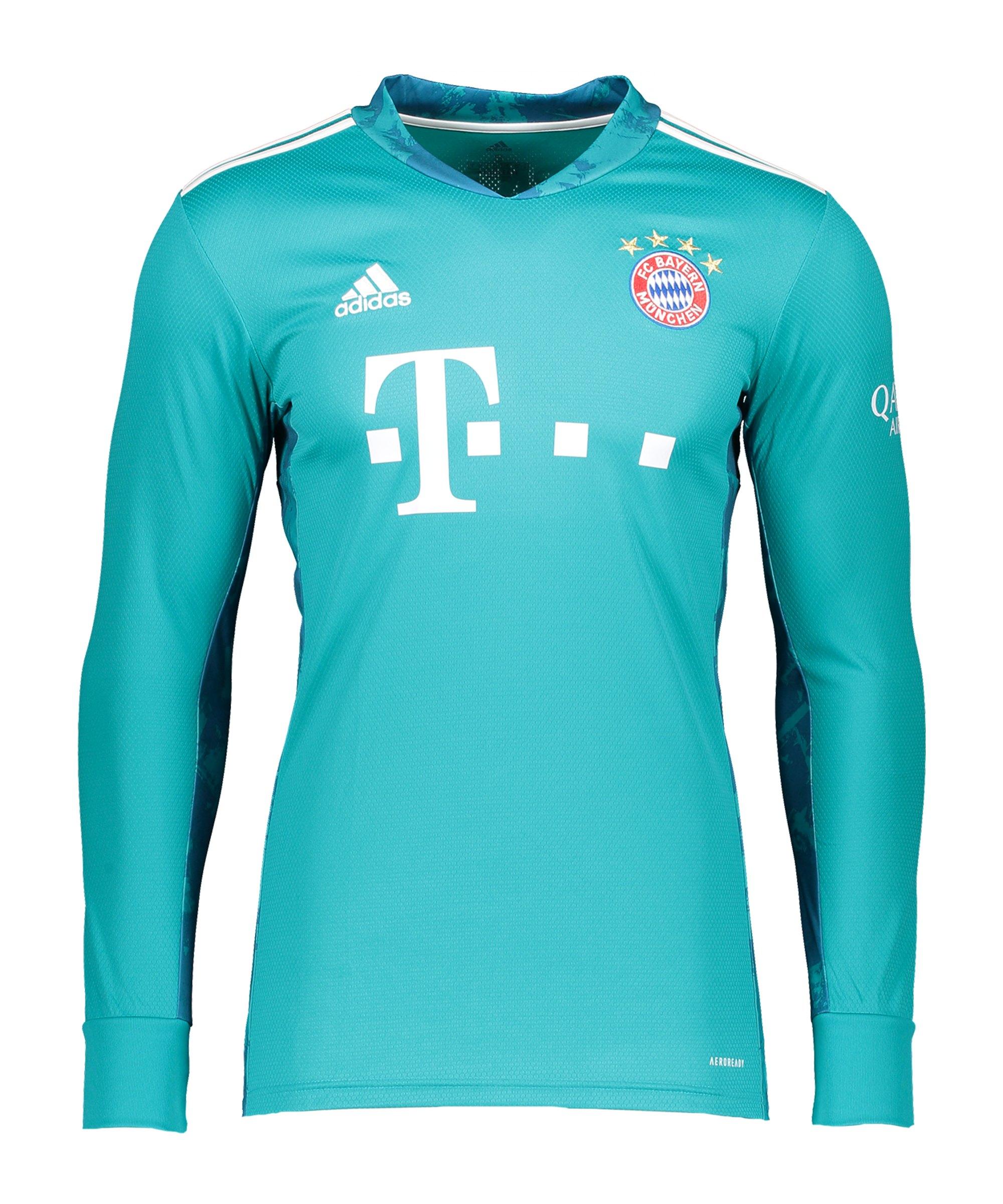 adidas FC Bayern München TW-Trikot 2020/2021 Kids - gruen