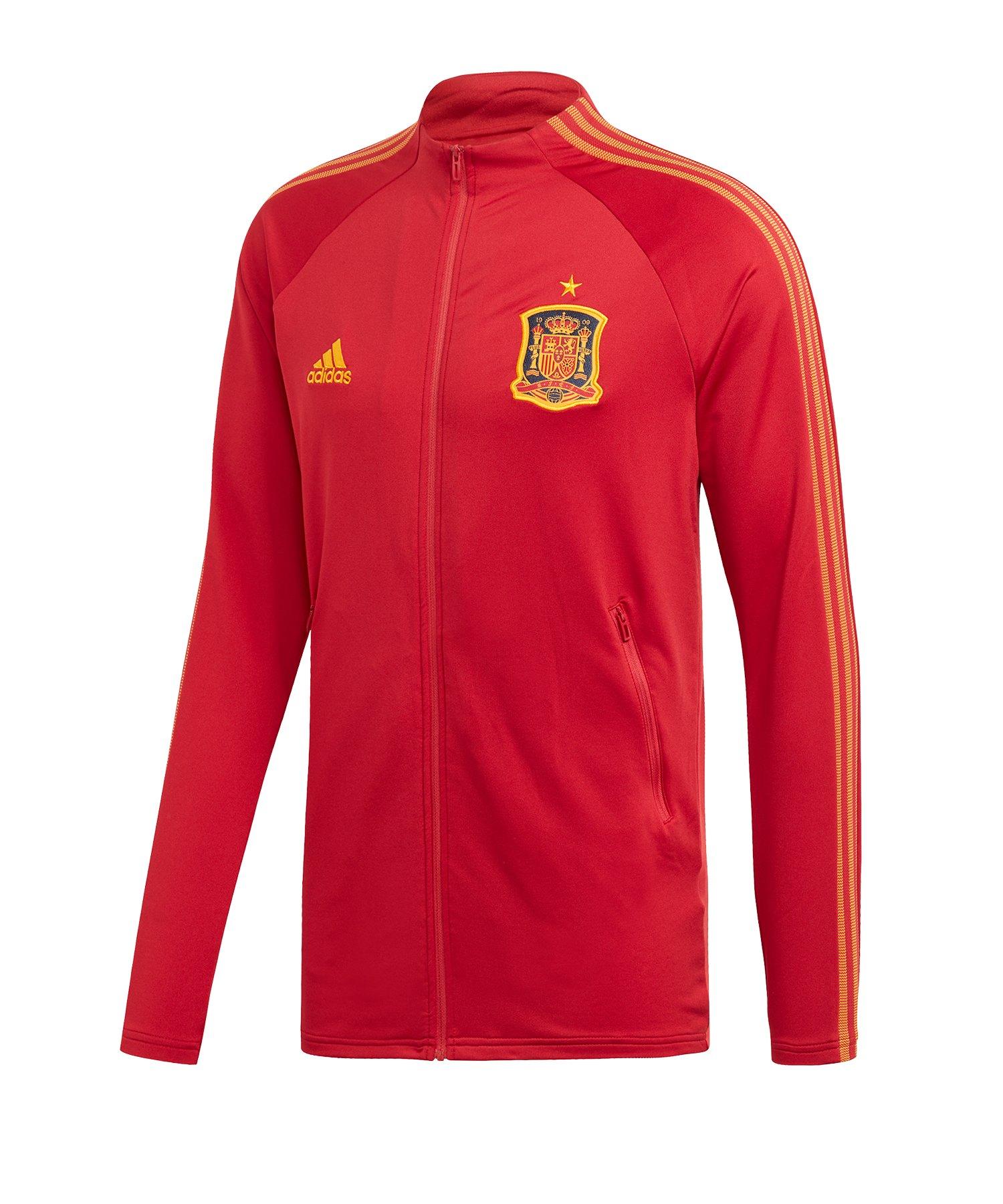 adidas Spanien Anthem Jacket Jacke Rot - rot