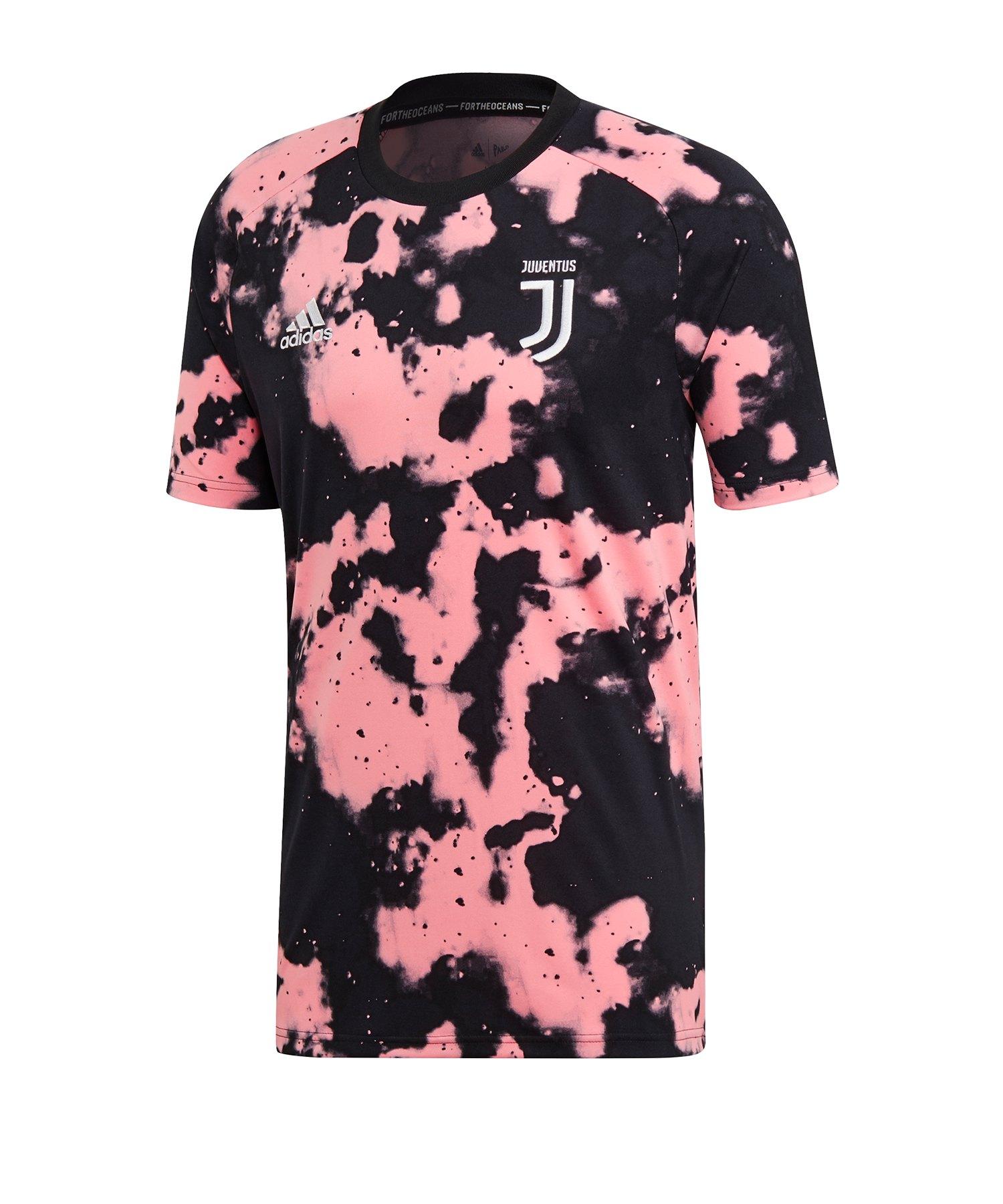 adidas Juventus Turin Prematch Shirt Pink - pink