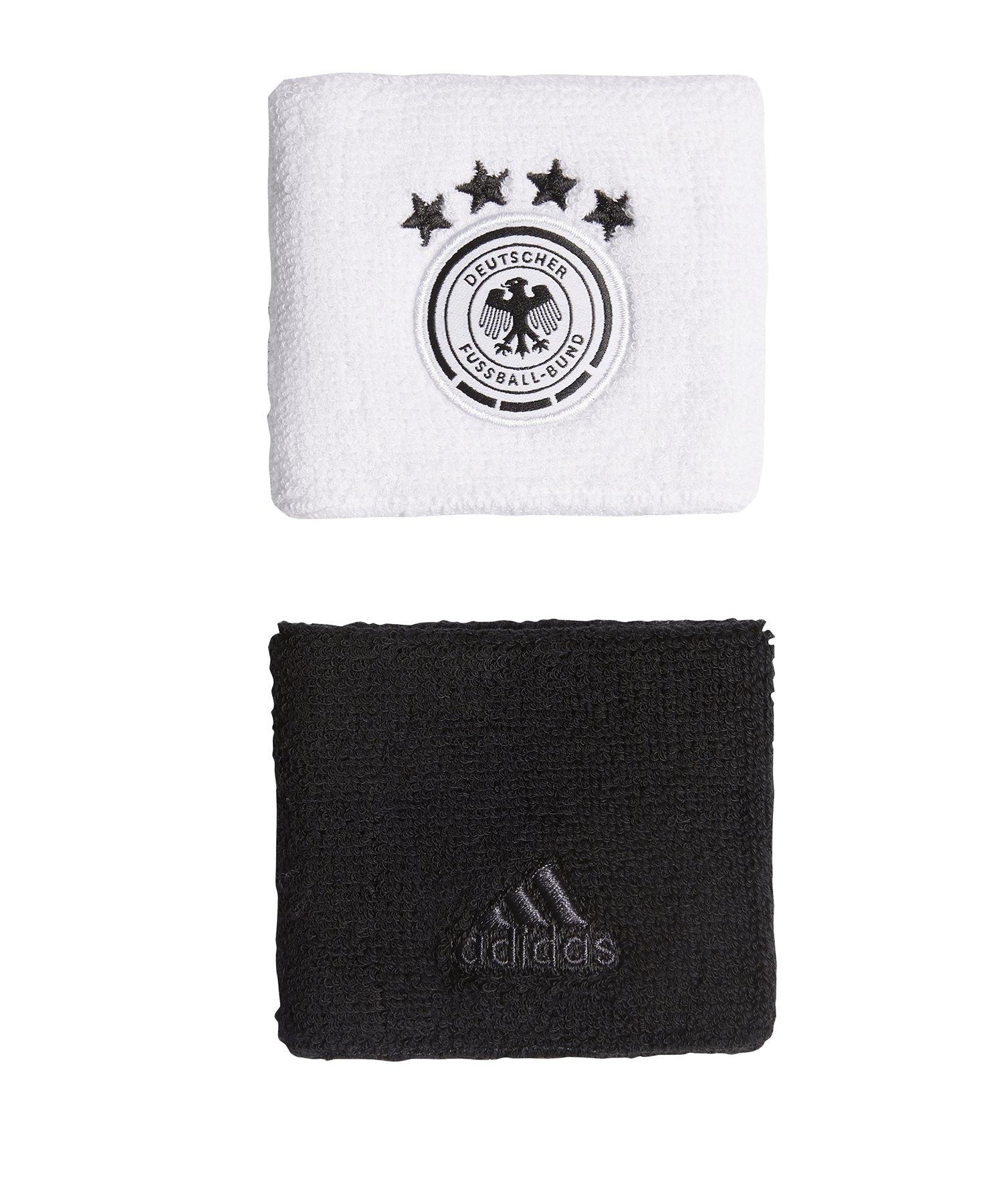 adidas DFB Deutschland Schweißbandset Weiss - weiss
