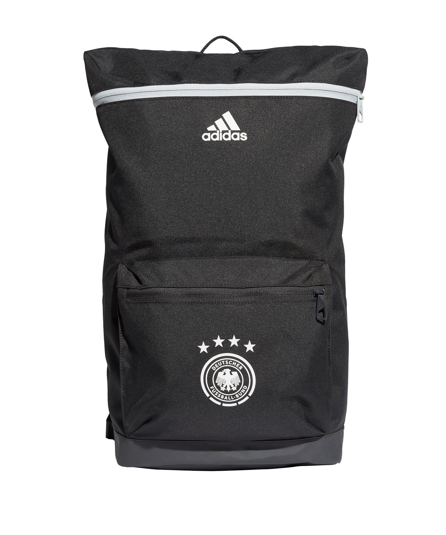 adidas DFB Deutschland Rucksack Grau Weiss - grau