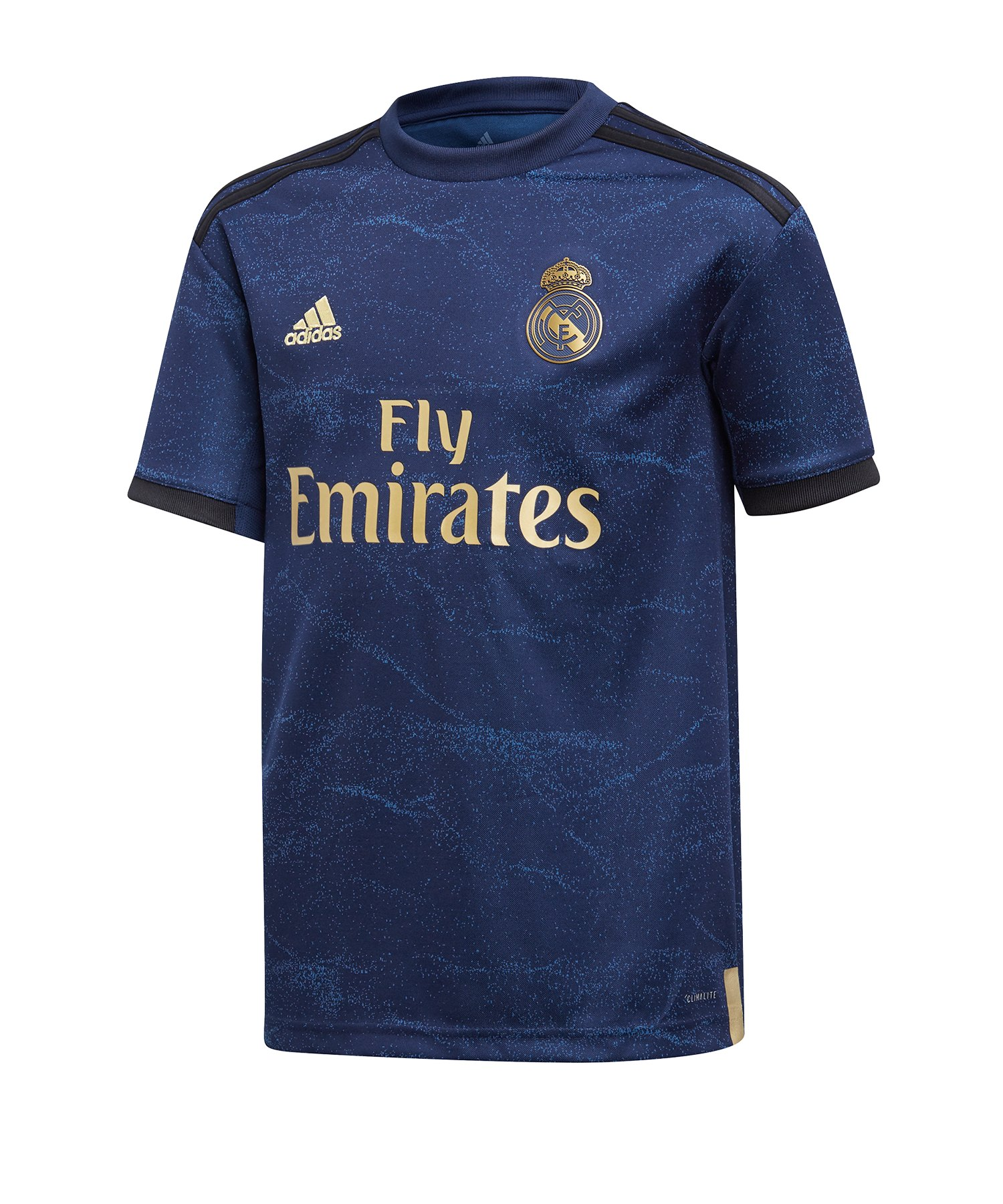 adidas Real Madrid Trikot Away 2019/2020 Kids Blau - Blau