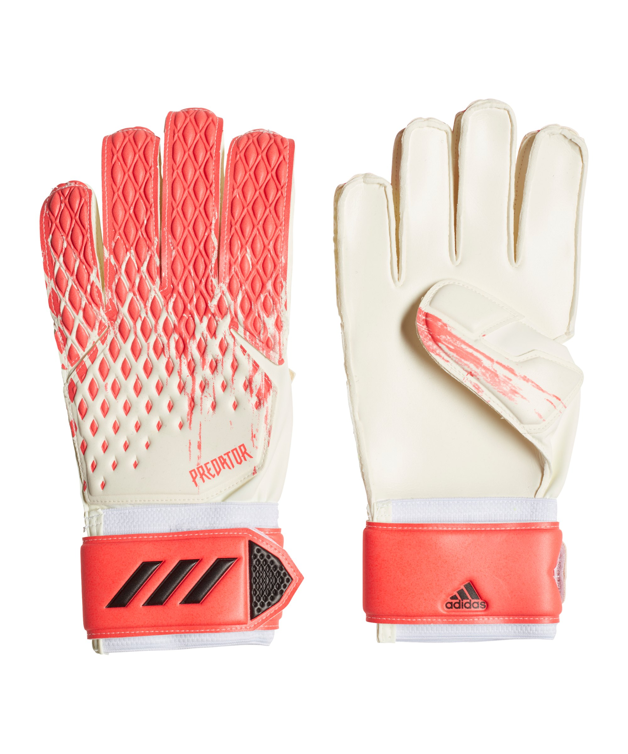 adidas Predator MTC TW-Handschuh Weiss Rosa - weiss