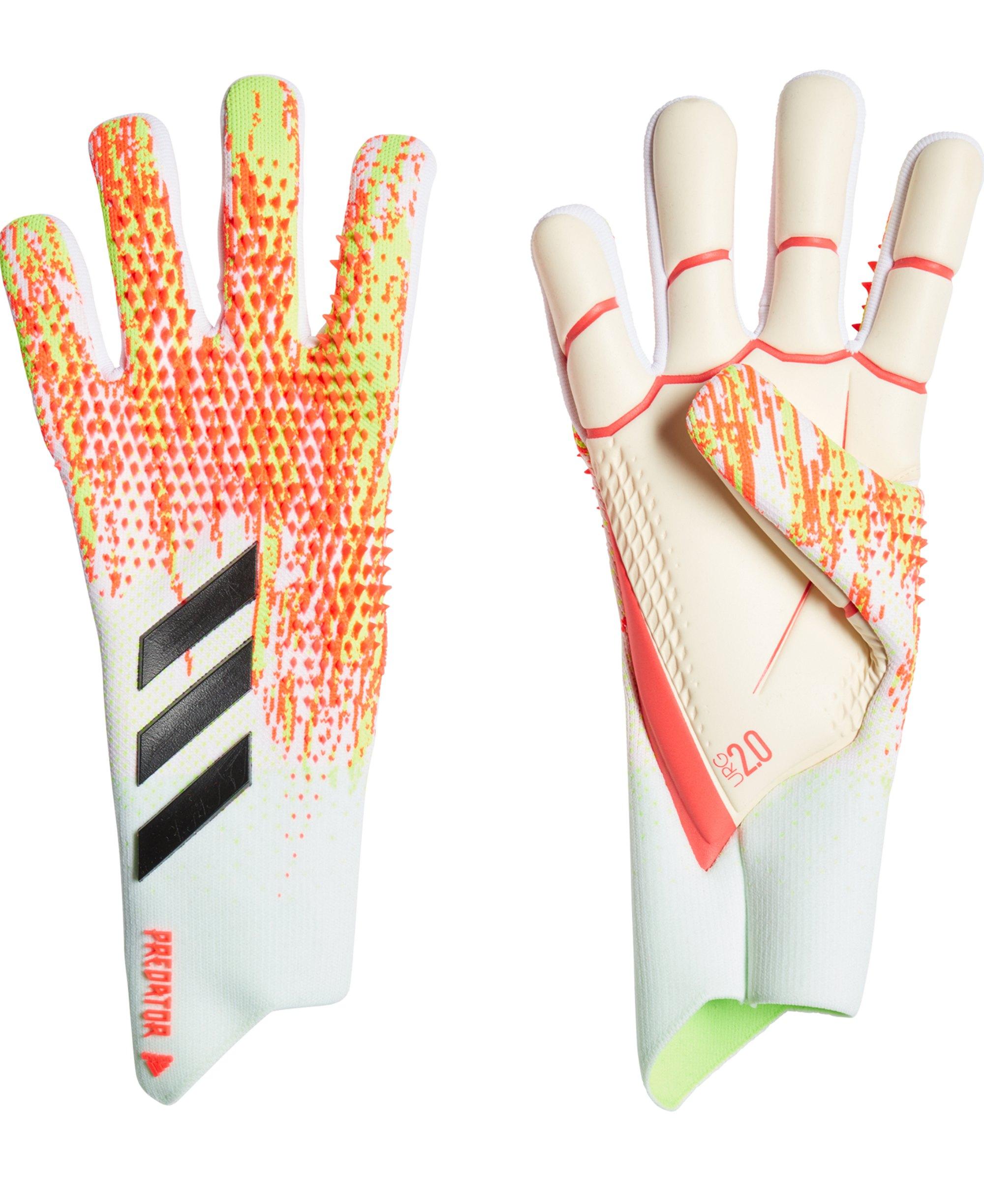 adidas Predator Uniforia Pro TW-Handschuh Weiss Orange - weiss