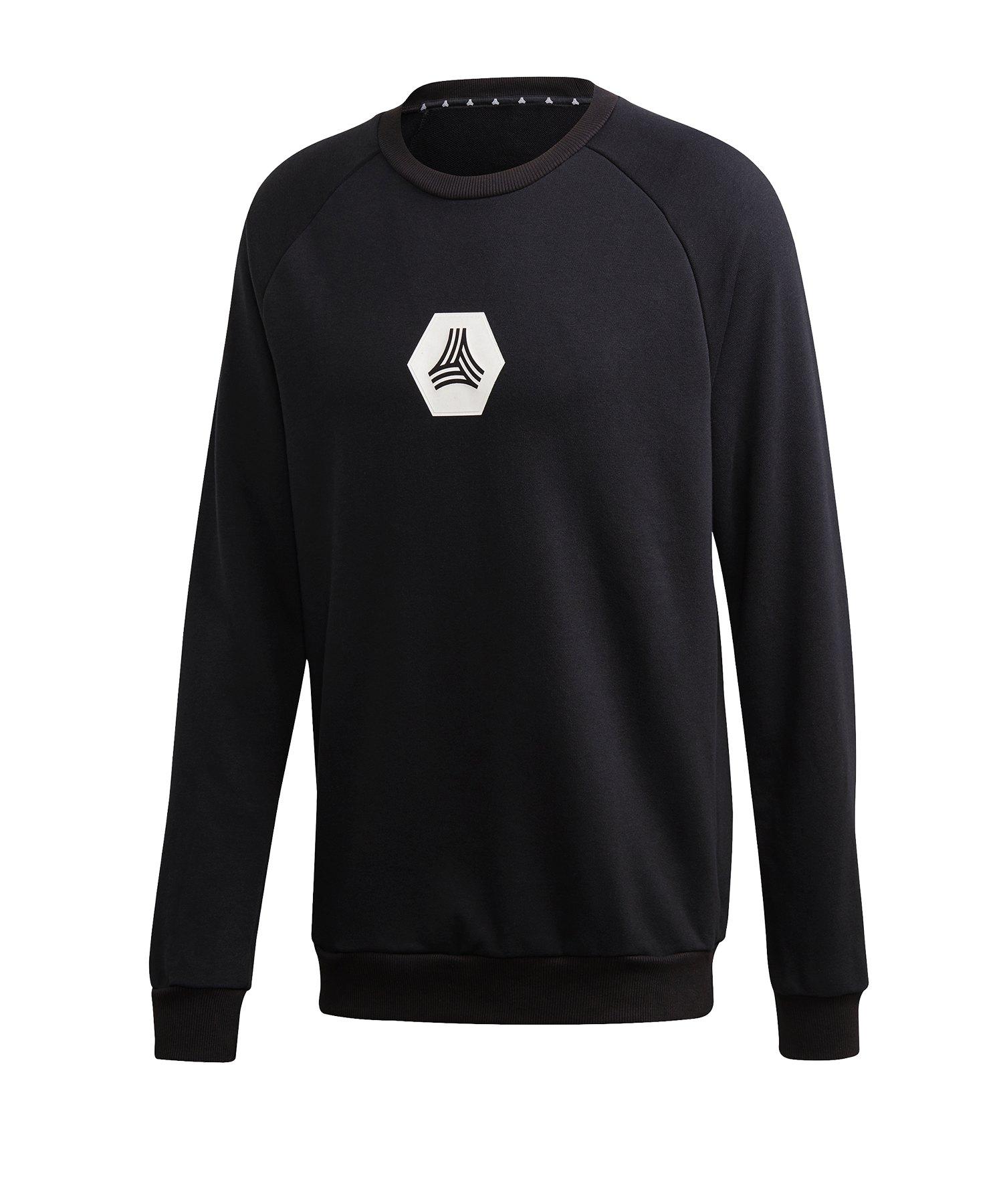 adidas Tango Logo Sweatshirt langarm Schwarz - schwarz