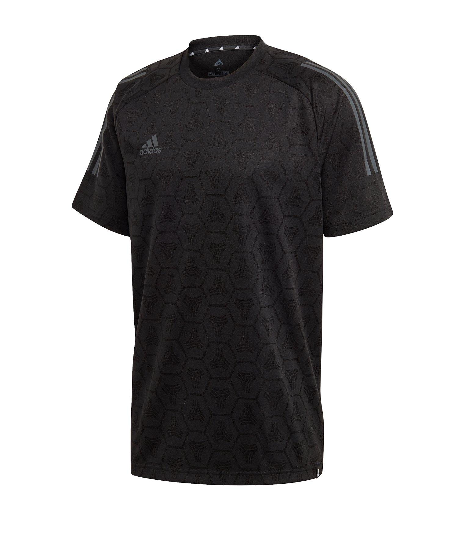 adidas Tango JQD T-Shirt Schwarz - schwarz