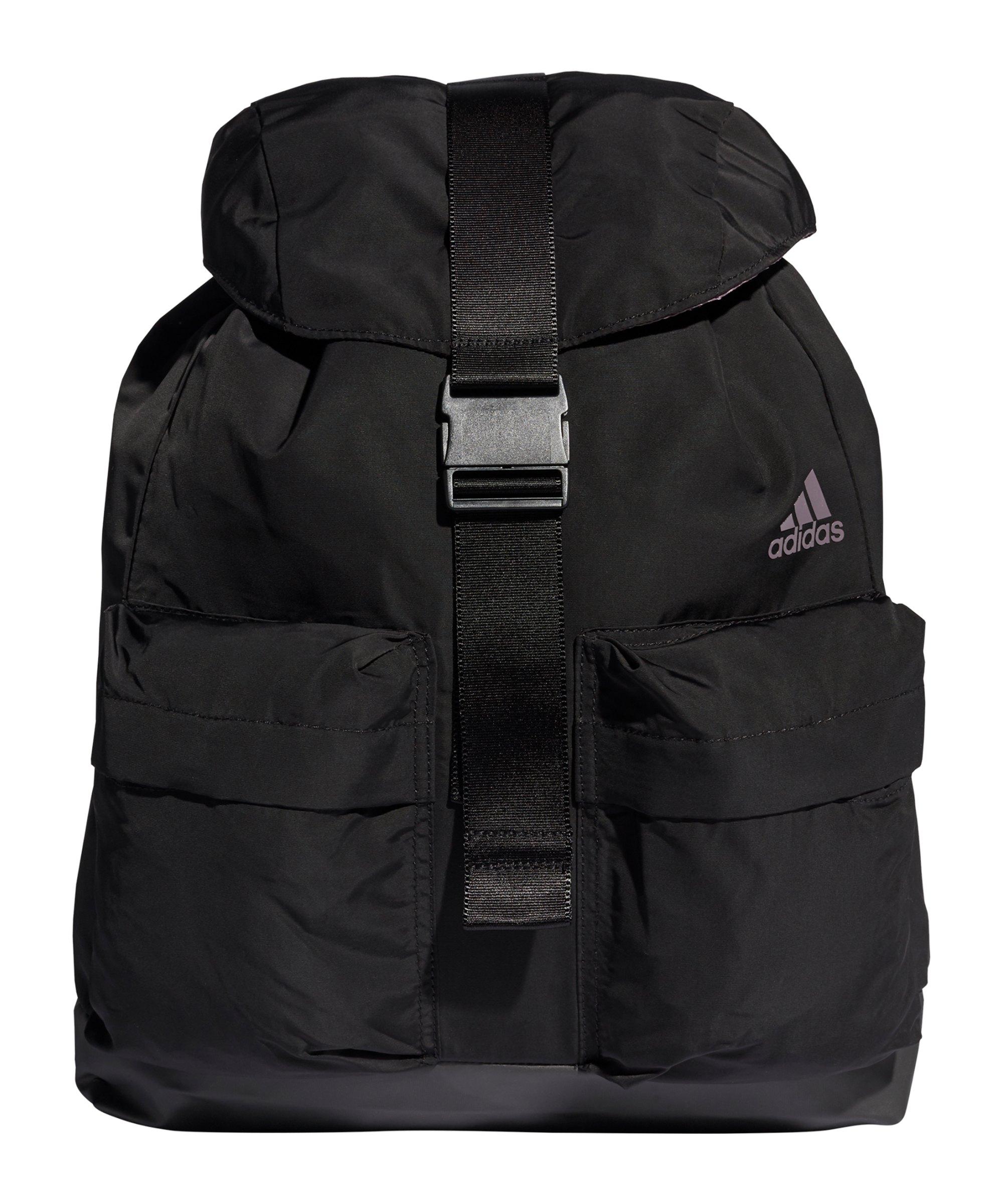 adidas ID Rucksack Damen Schwarz Grau - schwarz