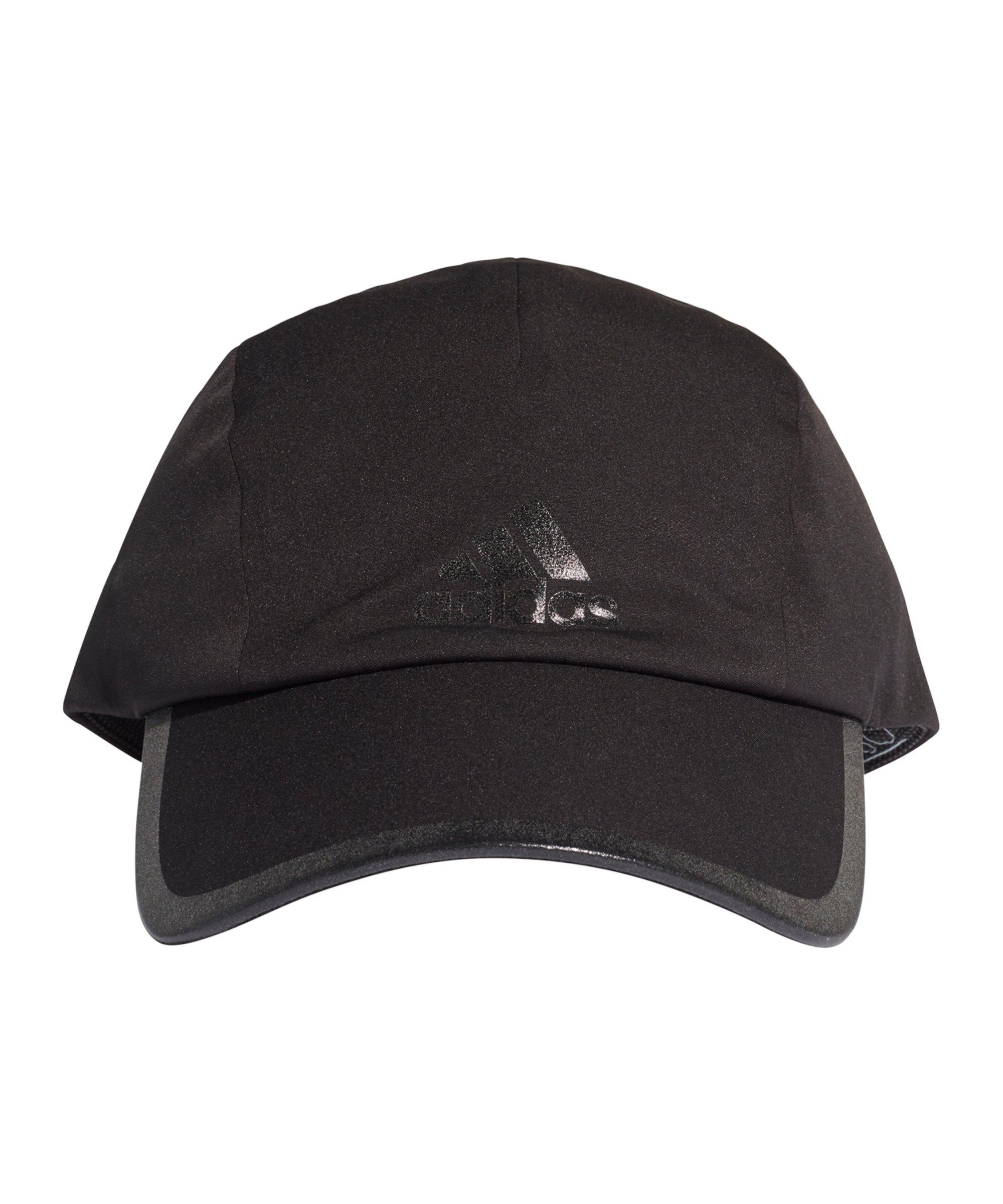 adidas Run Bonded Cap Schwarz Grau - schwarz