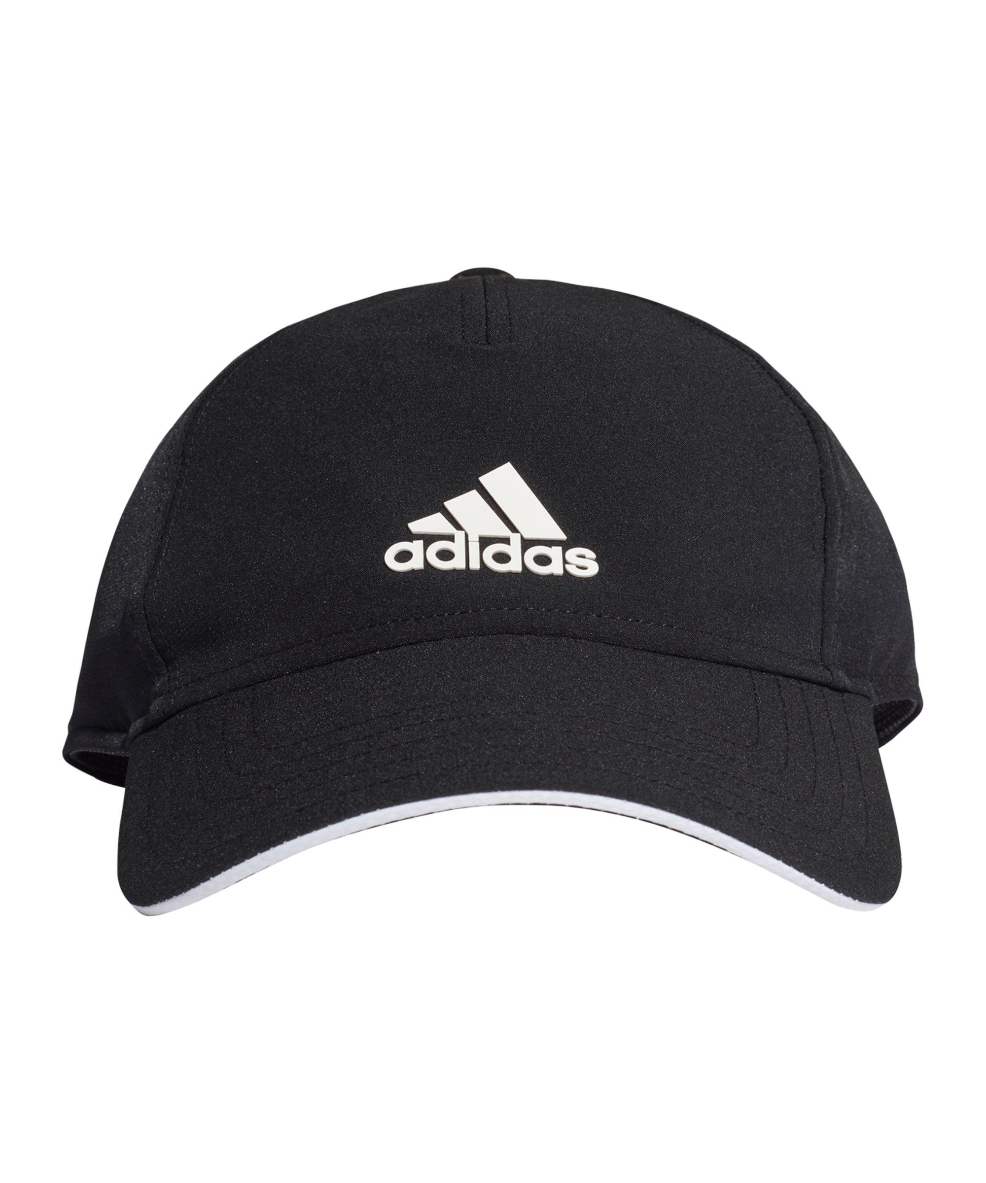 adidas Aeroready Baseball Cap Schwarz Weiss - schwarz