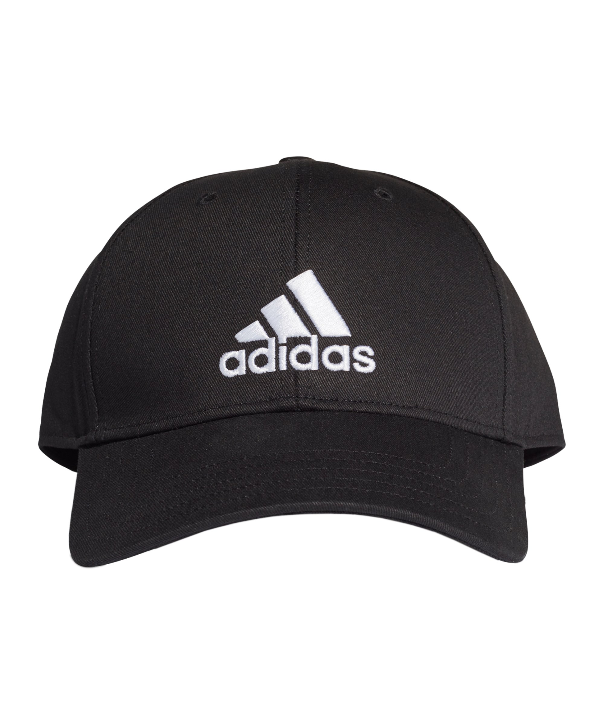adidas Baseball Cap Kappe Schwarz Weiss - schwarz