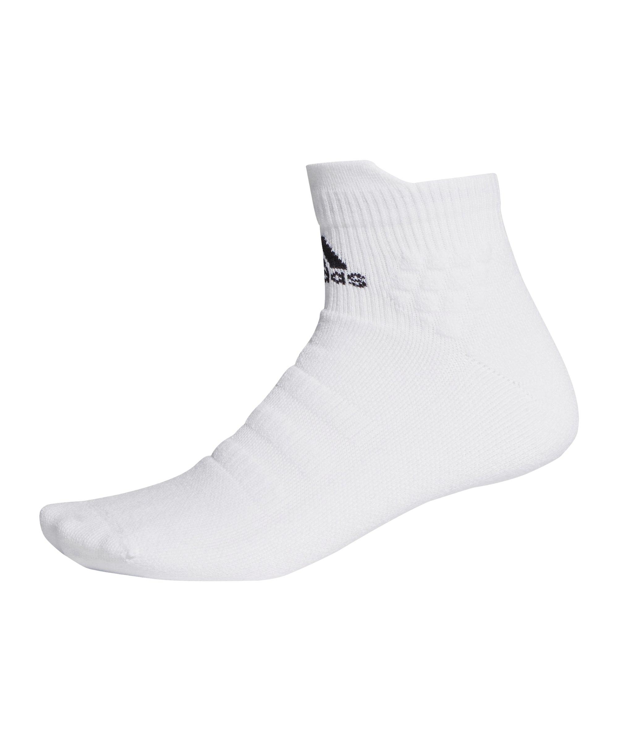 adidas Alphaskin Ankle MC Socken Weiss - weiss