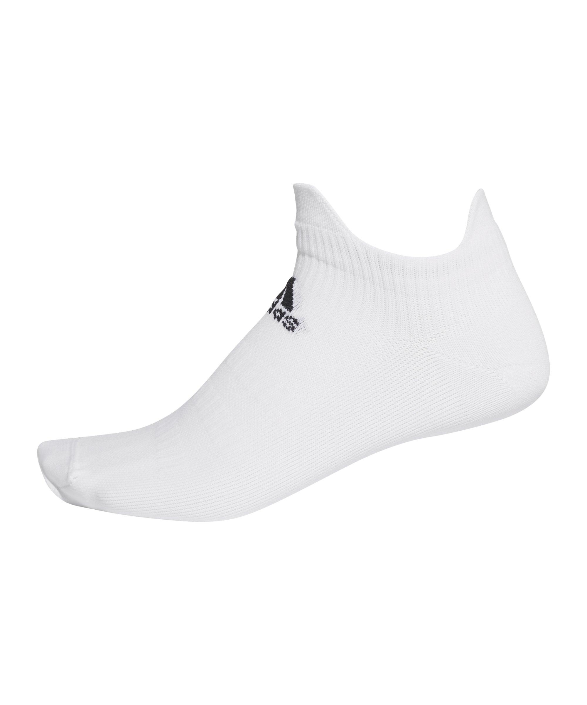 adidas Alphaskin Low UL Socken Weiss - weiss