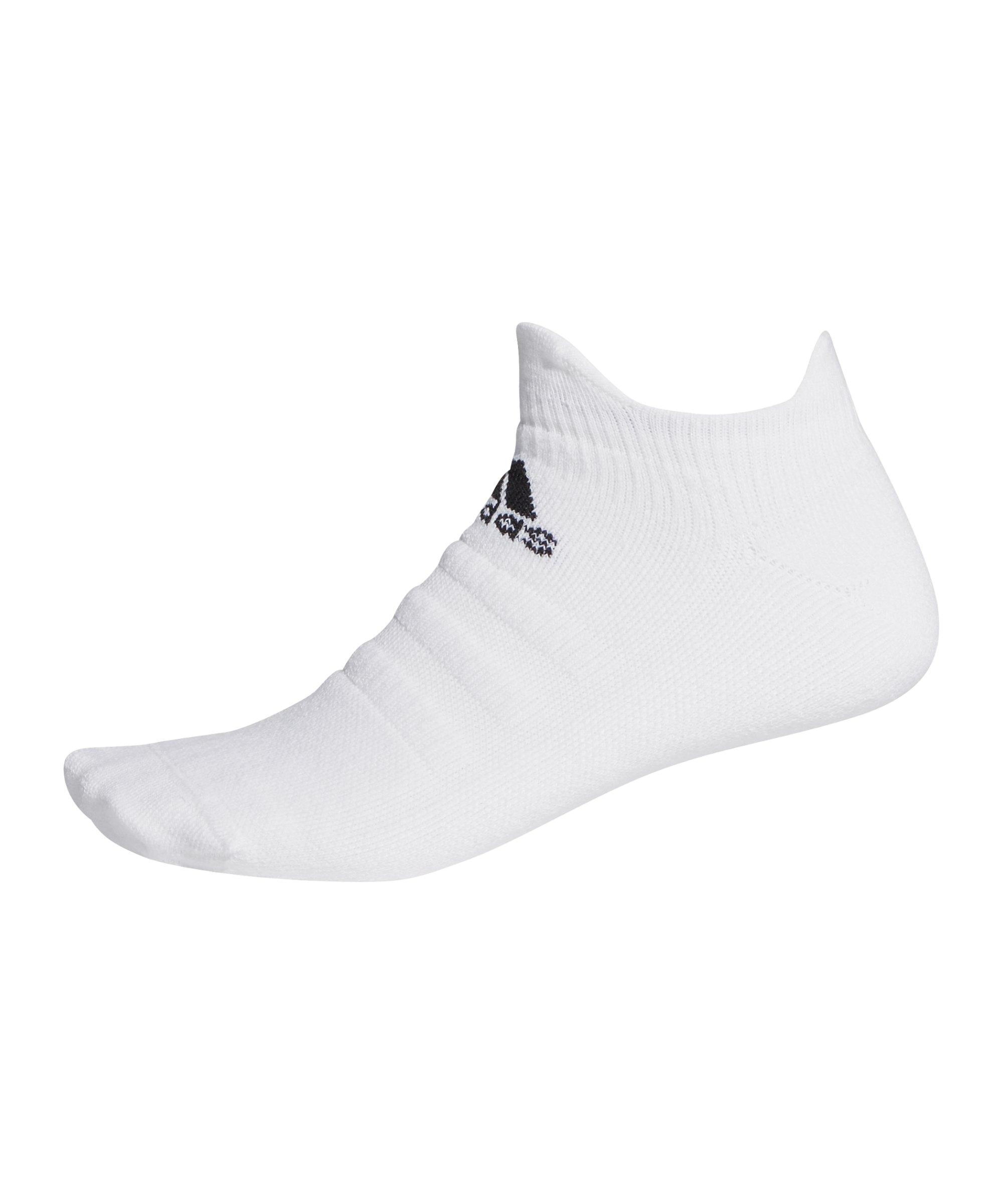 adidas Alphaskin Low MC Socken Weiss - weiss