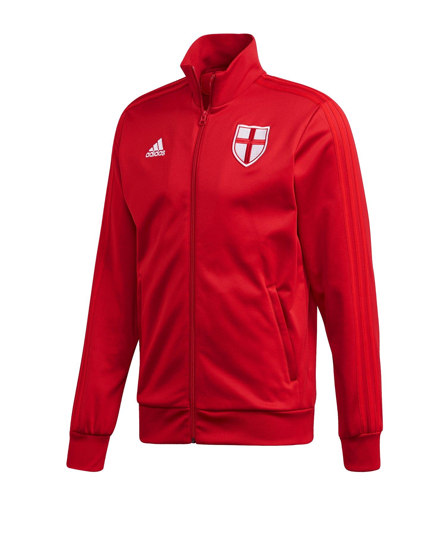 adidas England Trainingsjacke Rot - rot