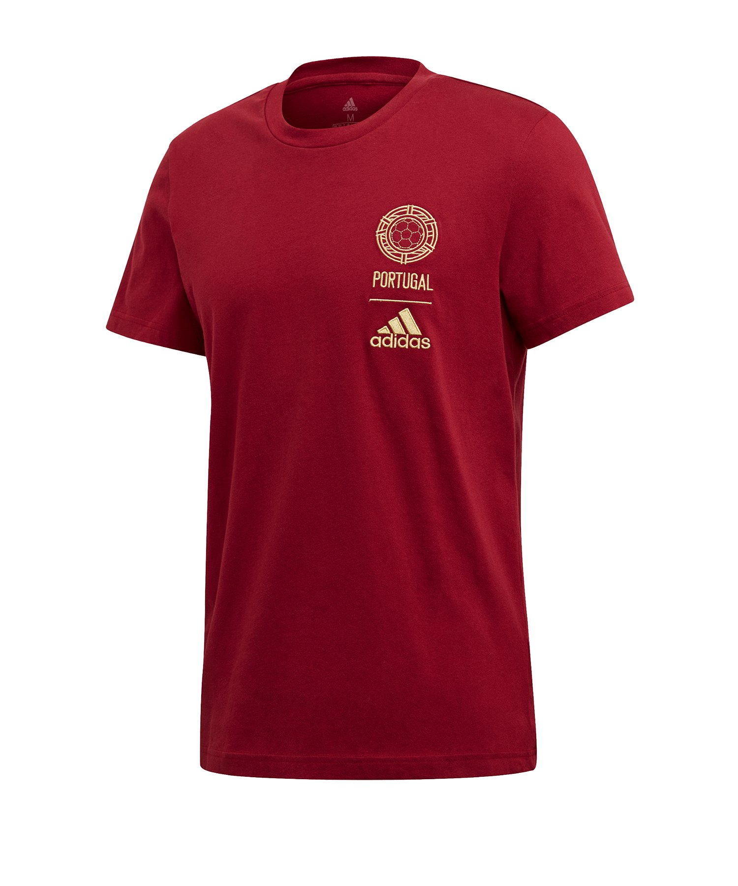 adidas Portugal T-Shirt Rot - rot