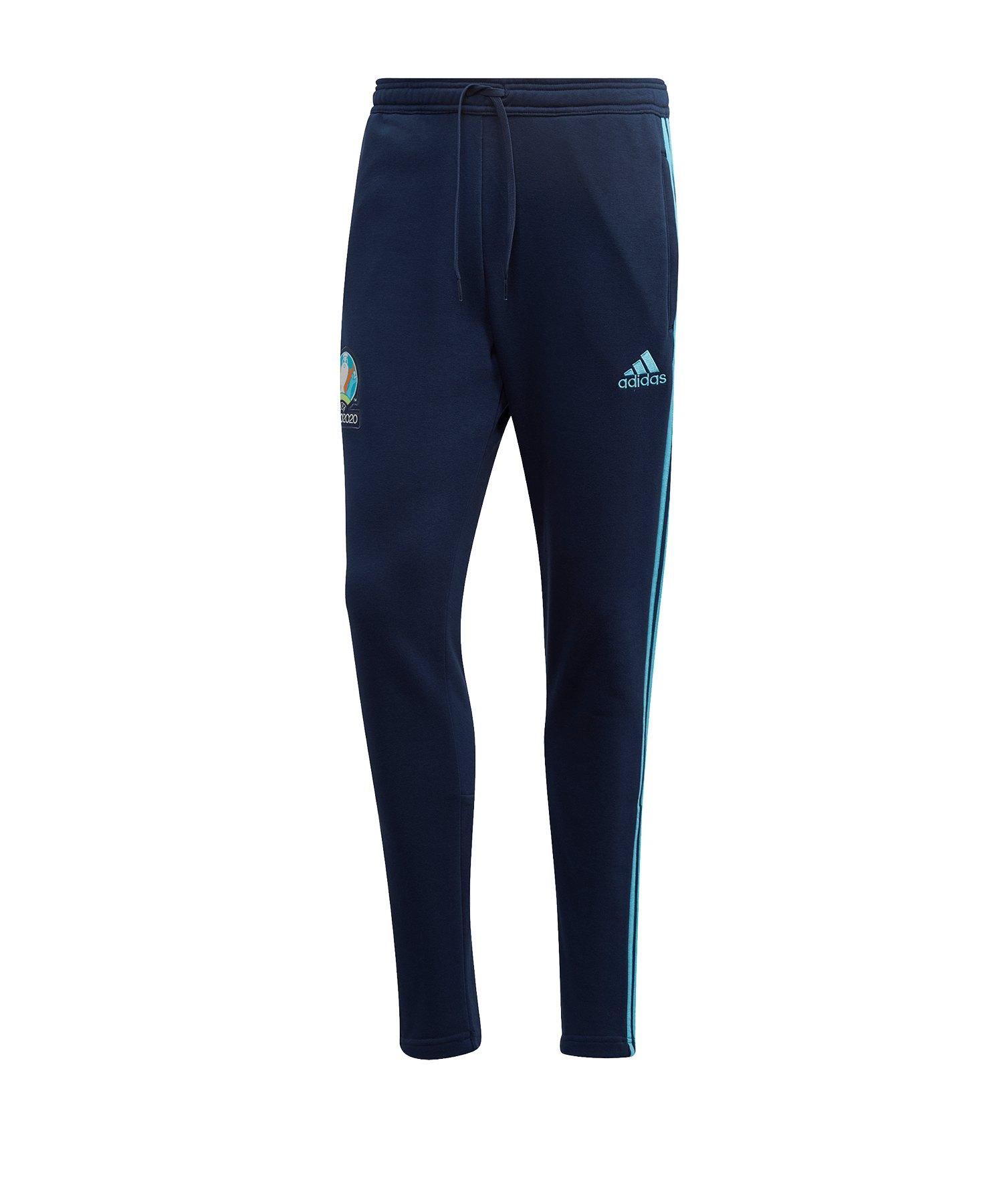 adidas UEFA EM 2020 Trainingshose Blau - blau