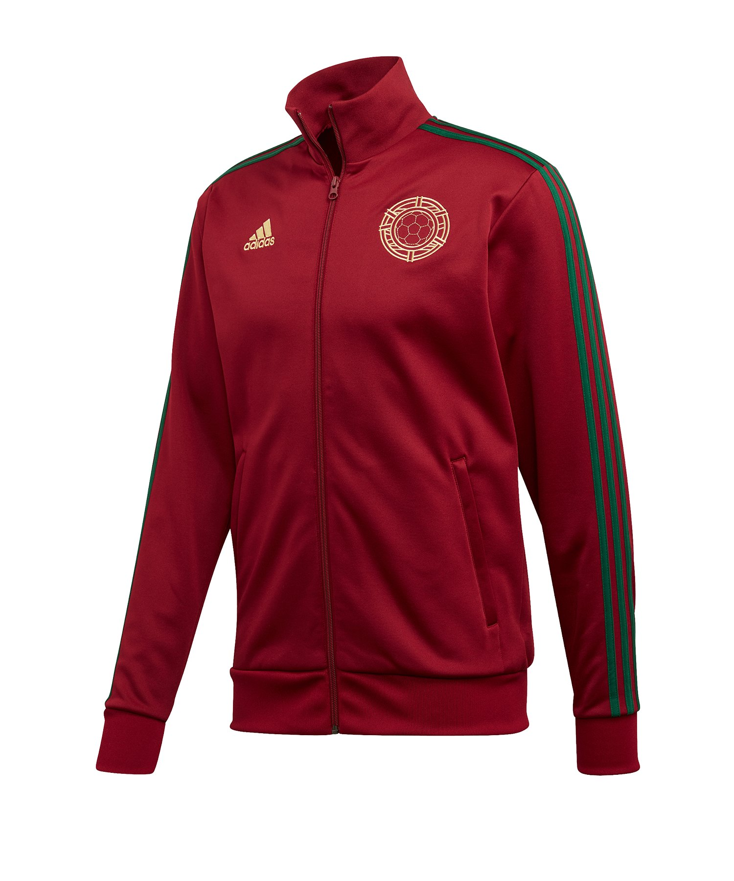adidas Portugal Trainingsjacke Rot Grün - rot