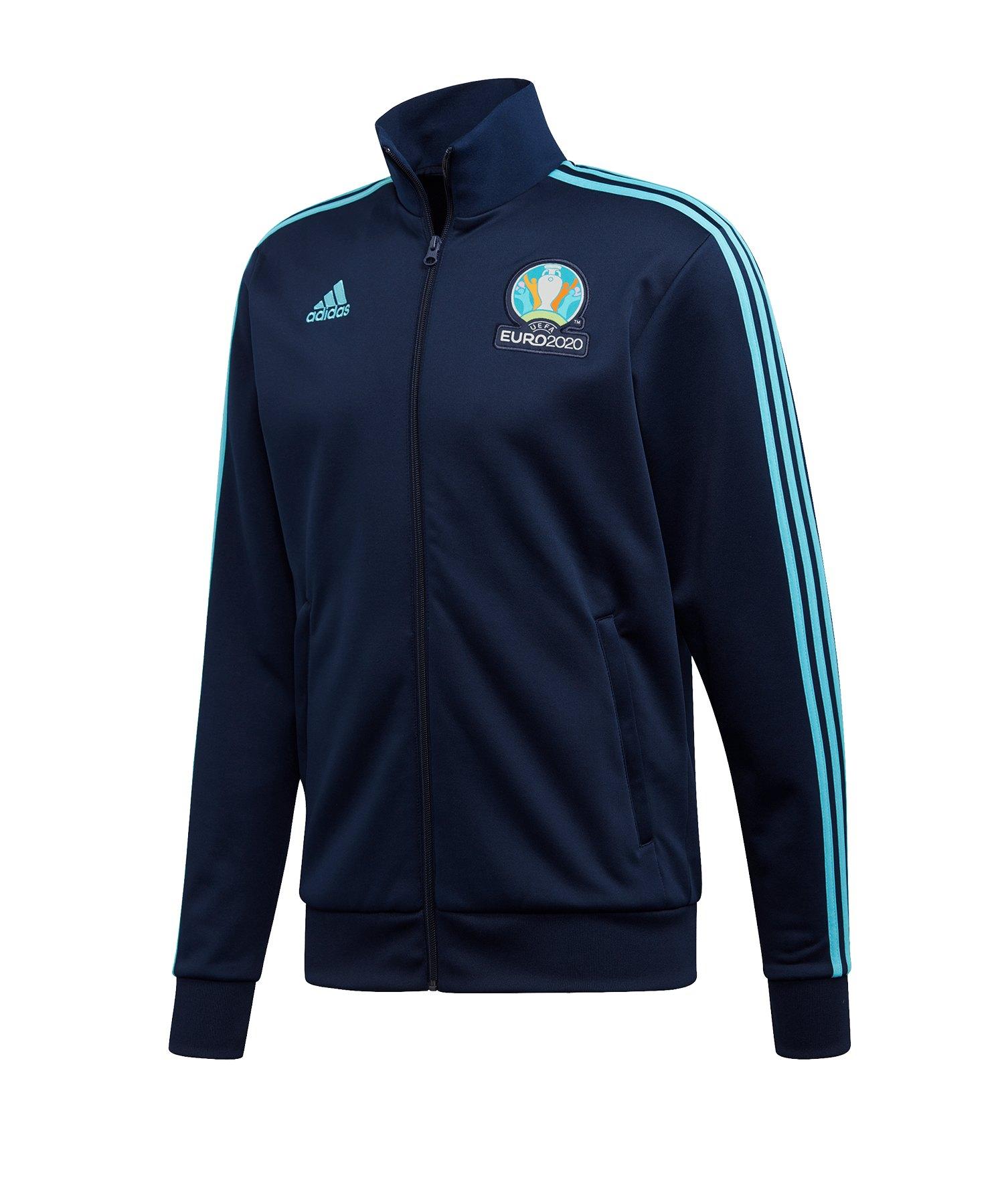 adidas UEFA EM 2020 Trainingsjacke Blau - blau