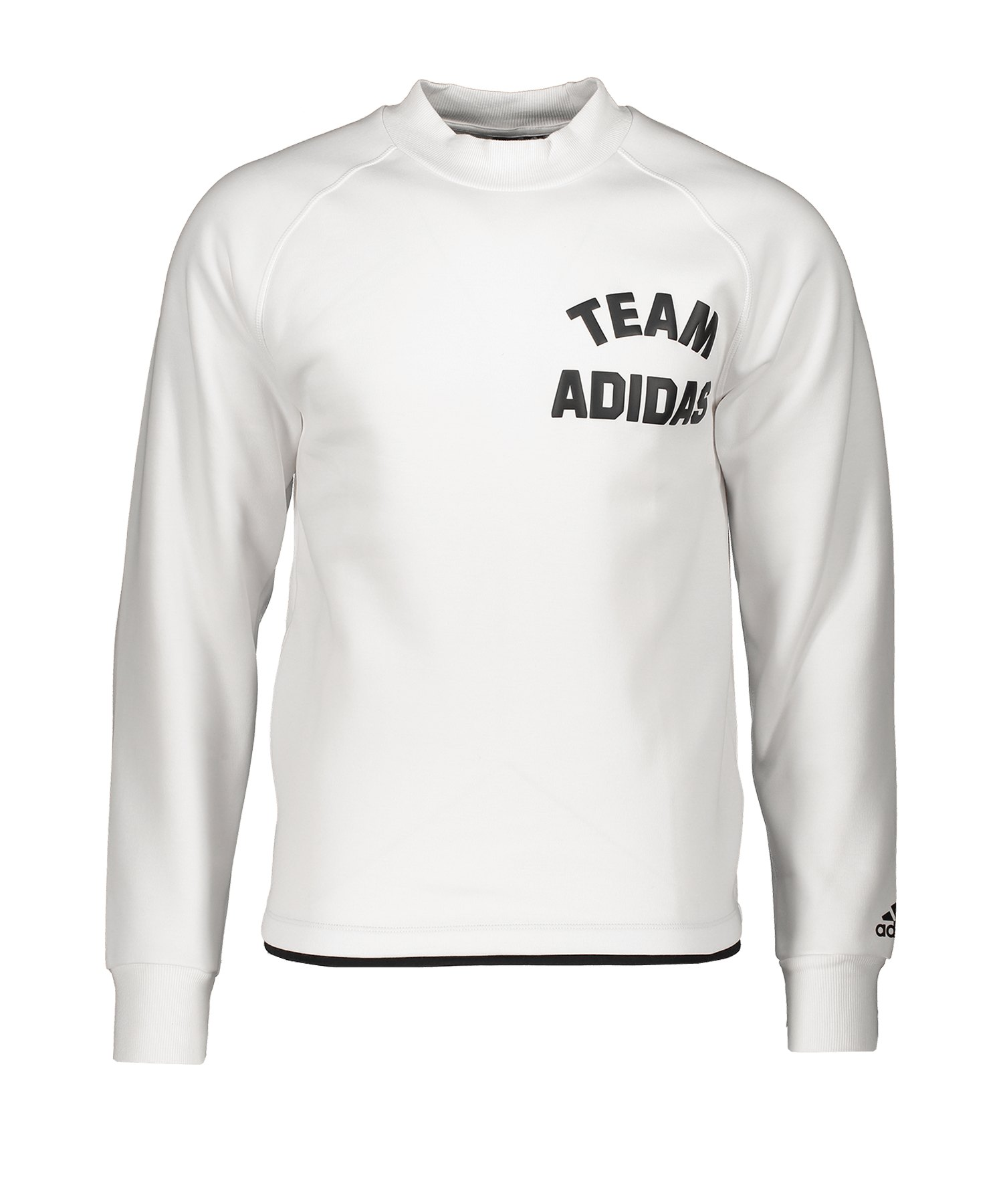 adidas VRCT Crew Sweatshirt langarm Weiss - weiss