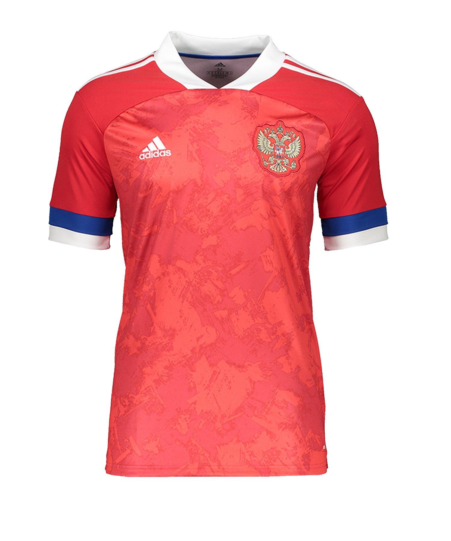 adidas Russland Trikot Home EM 2020 Kids Rot - rot