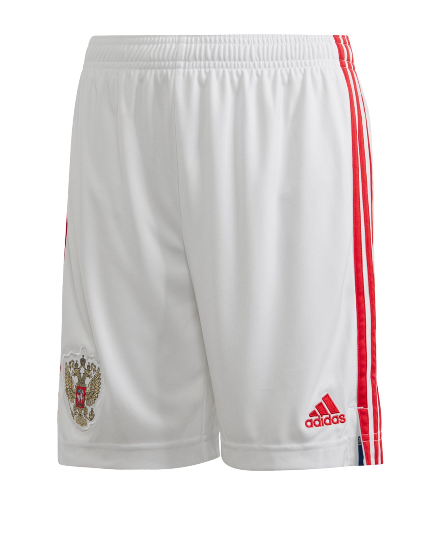 adidas Russland Short Home EM 2020 Kids Weiss - weiss