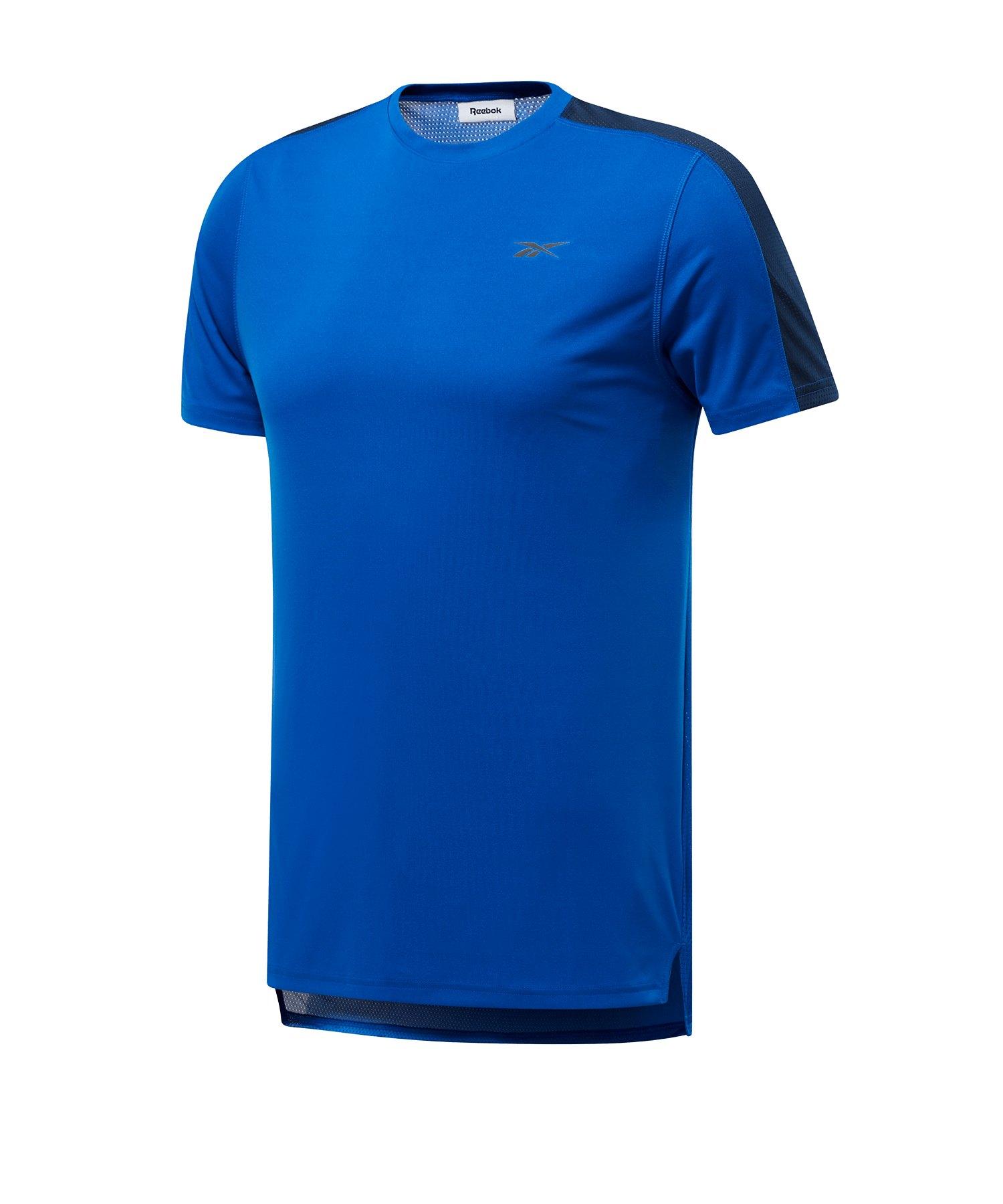 Reebok Workout Ready Tech T-Shirt Blau - blau