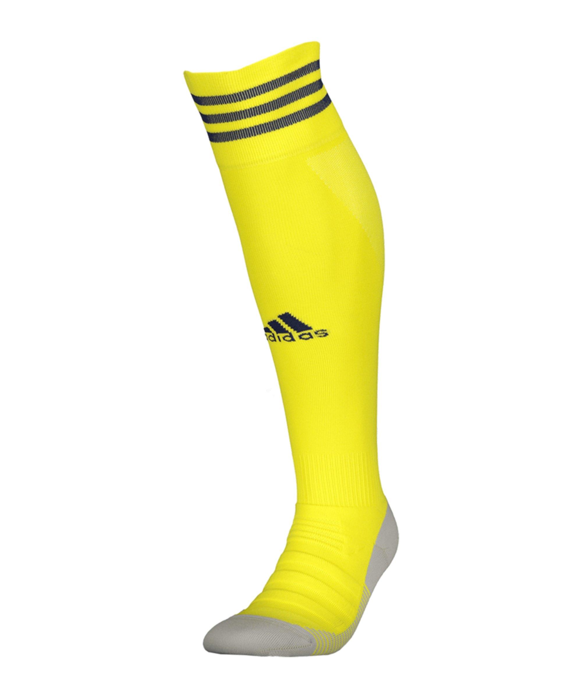adidas AdiSock 18 Stutzenstrumpf Gelb Blau - gelb