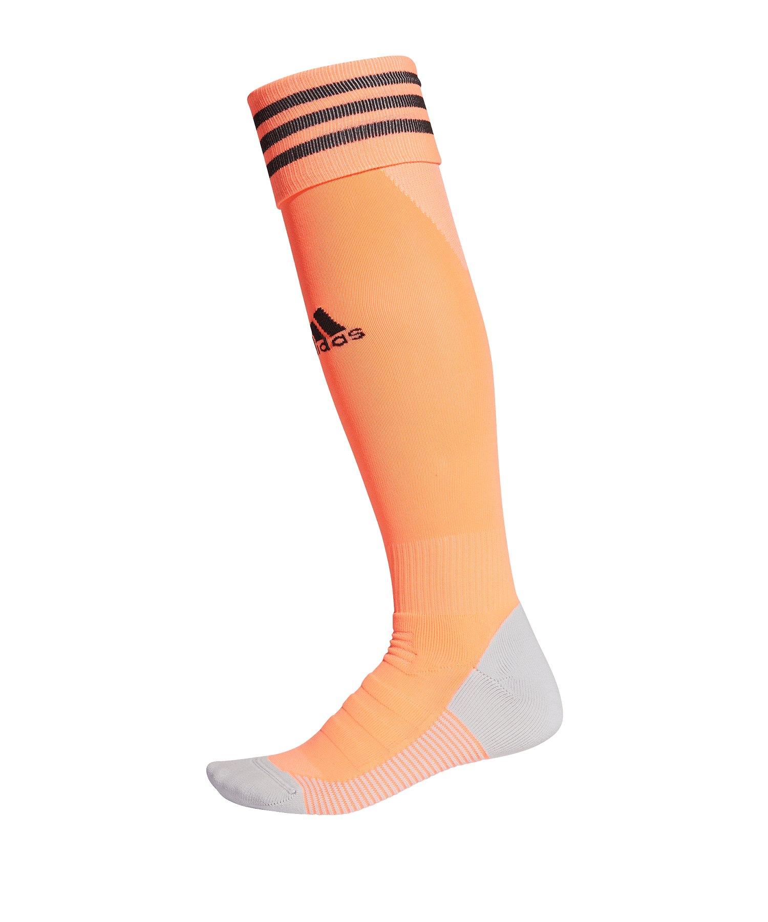 adidas Adisock 18 Stutzenstrumpf Hellrot - orange