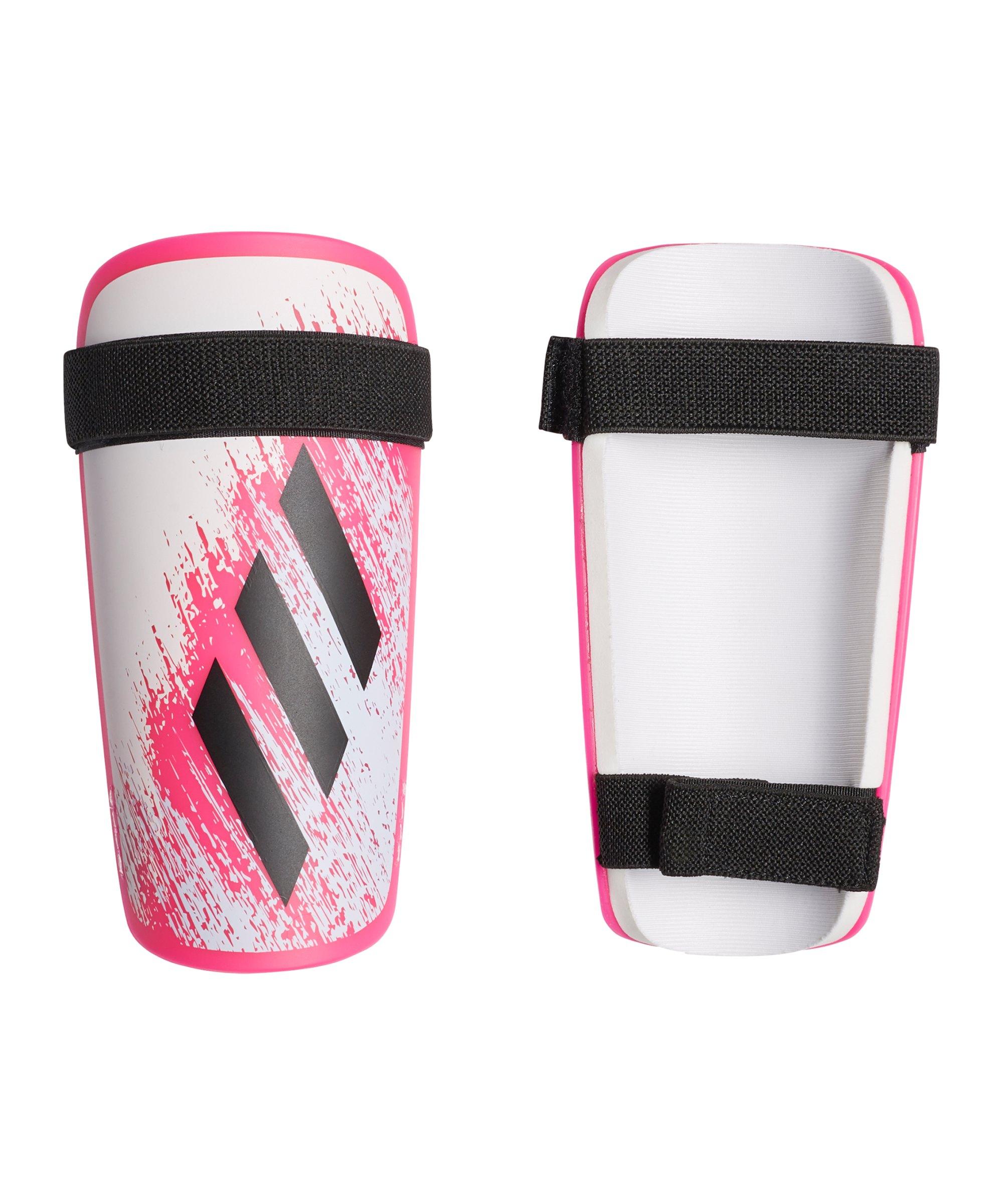 adidas X SG Schienbeinschoner Weiss Pink - weiss