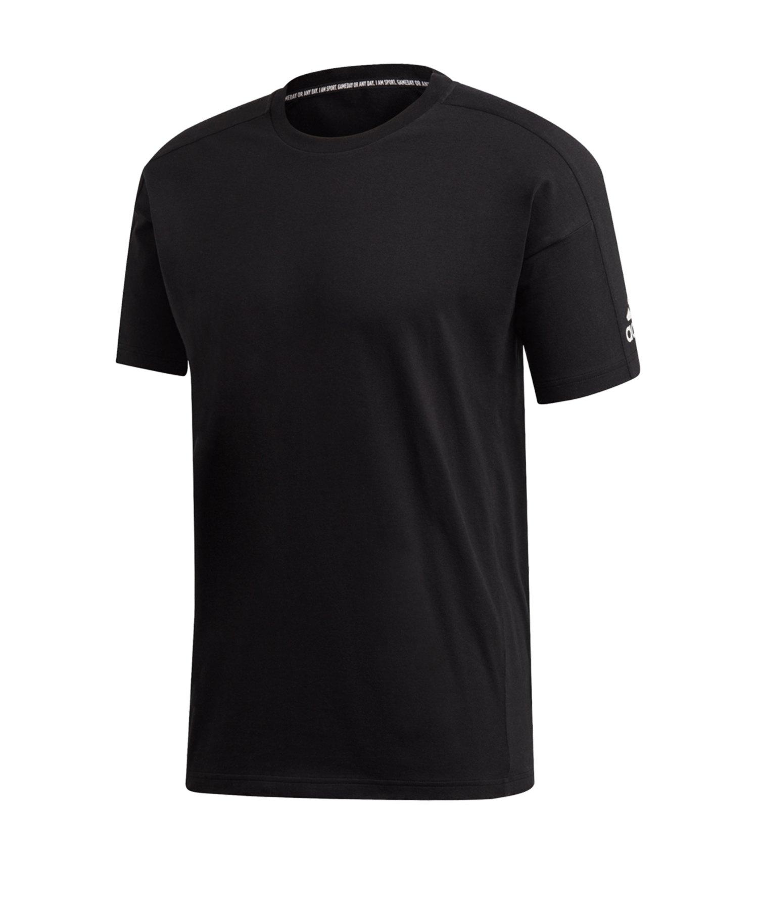 adidas MH Plain T-Shirt Schwarz - schwarz
