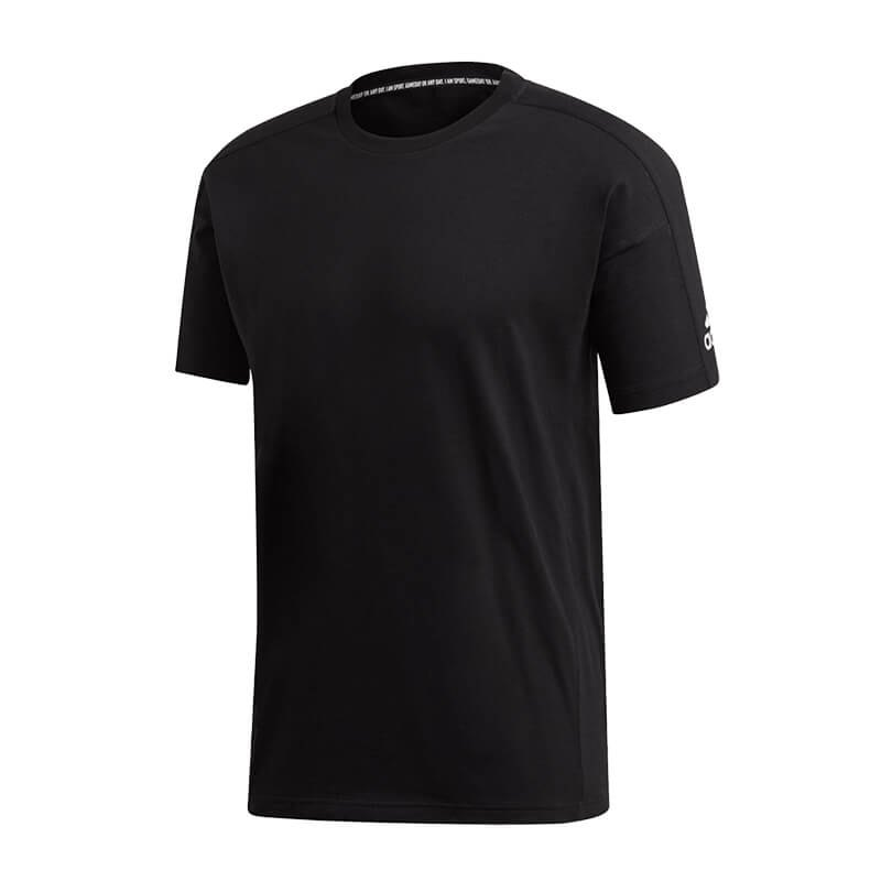 adidas Must Haves Plain Tee T-Shirt Schwarz - schwarz