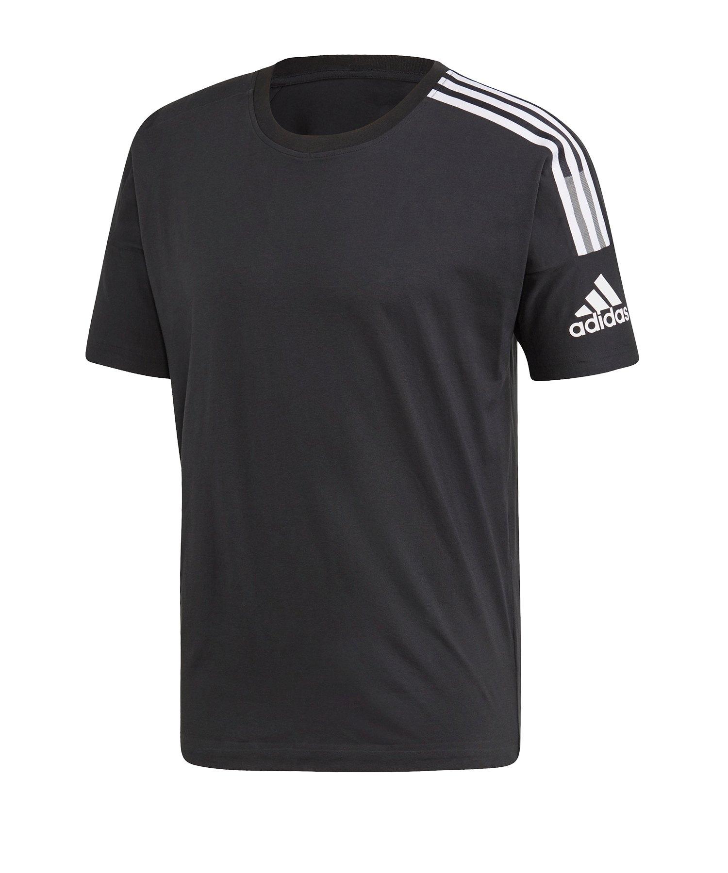 adidas Z.N.E. Tee T-Shirt Schwarz - schwarz