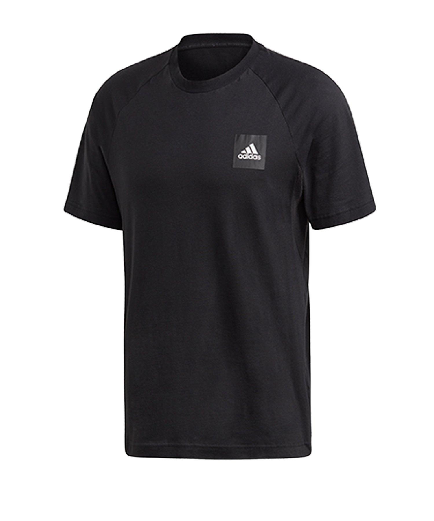 adidas MH Stadium T-Shirt Schwarz - schwarz