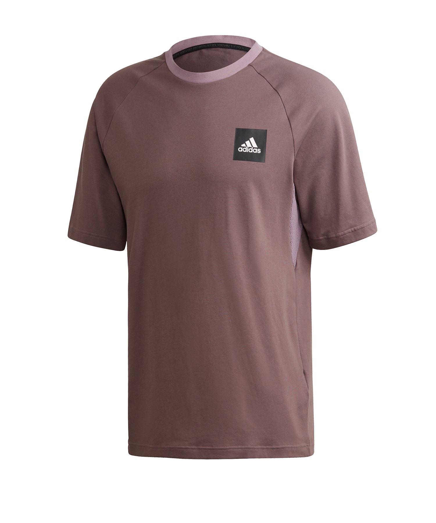 adidas MH T-Shirt Blau - lila