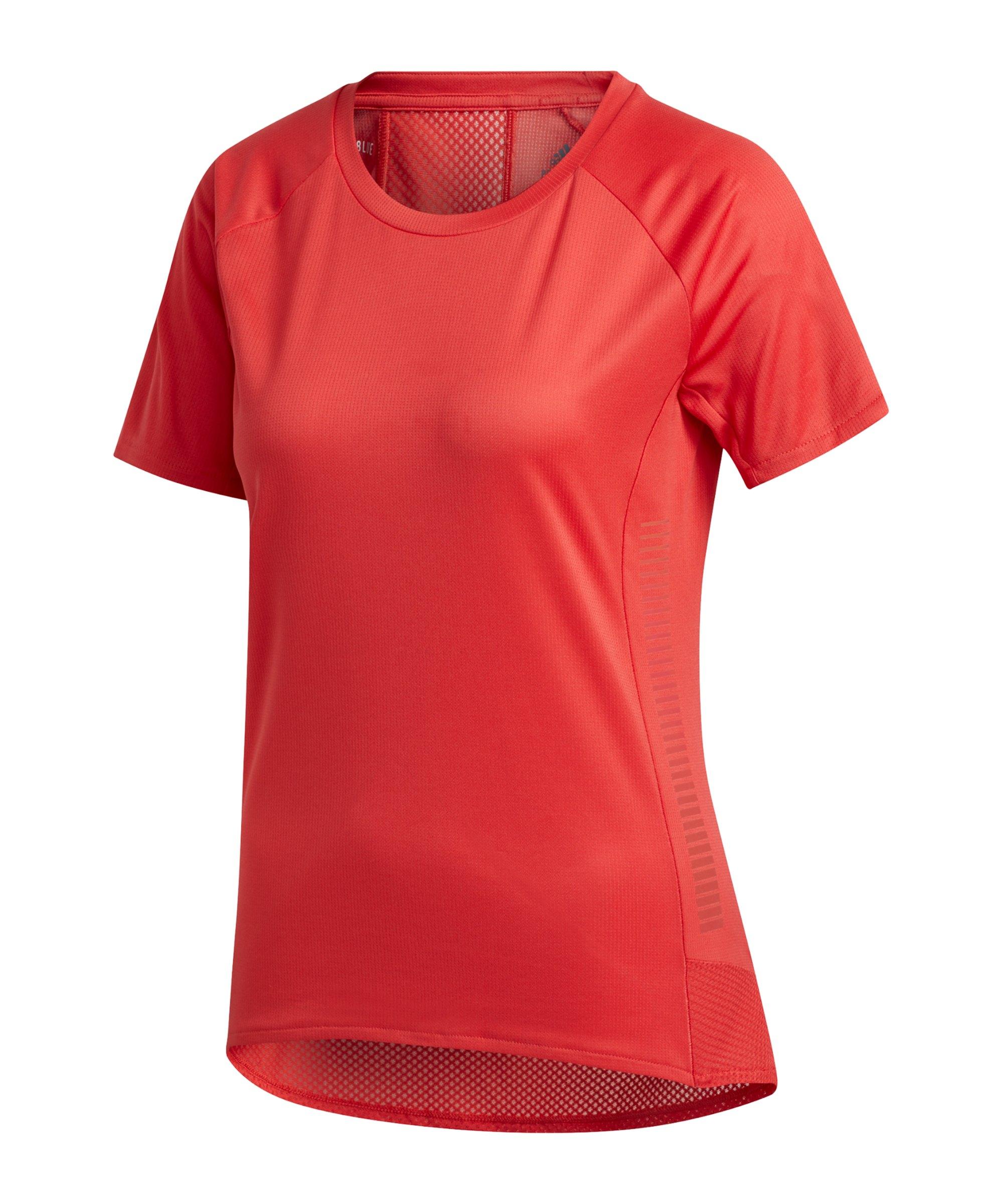 adidas 25/7 T-Shirt Running Damen Rot - rot