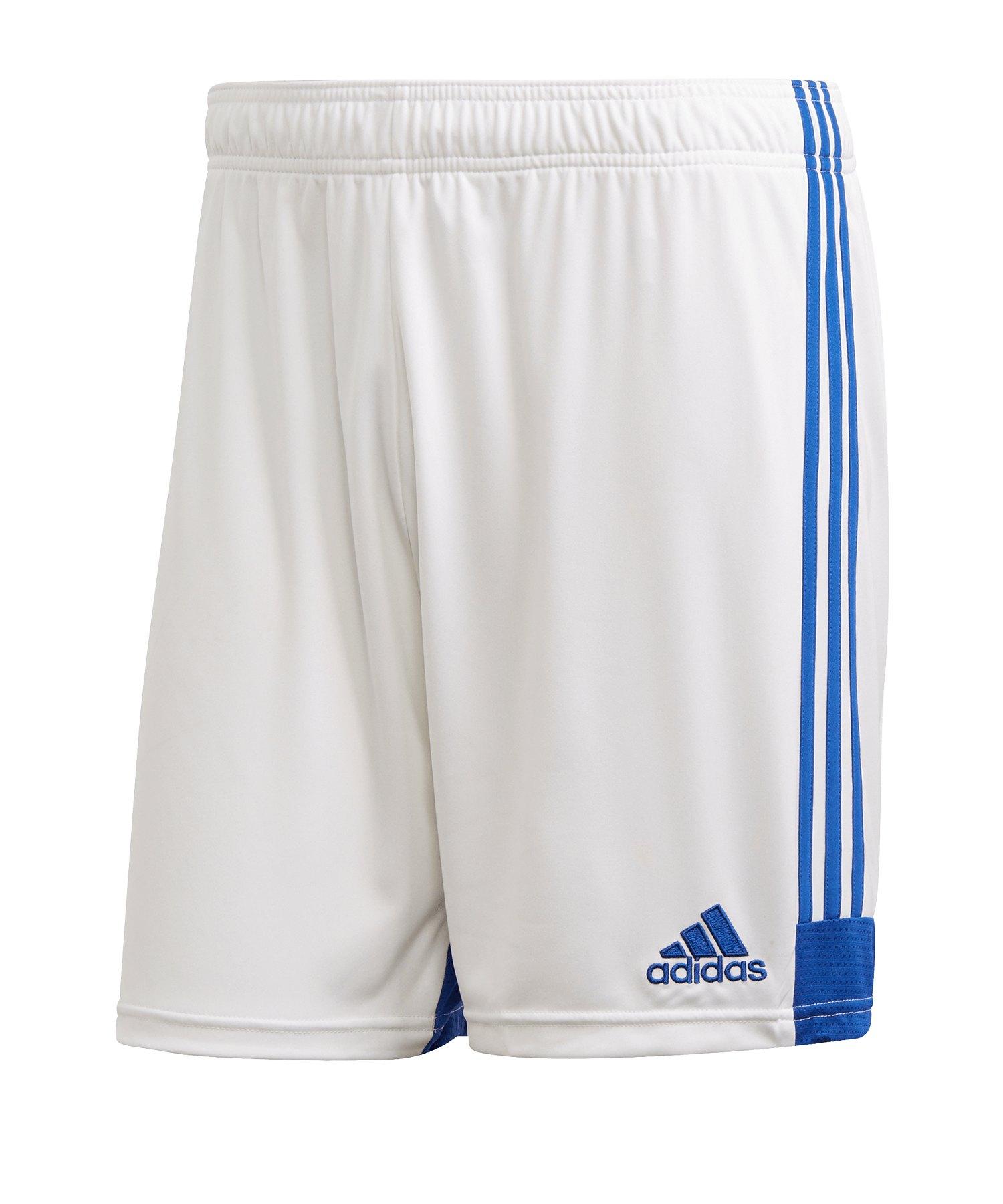 adidas Tastigo 19 Short Weiss Blau - weiss