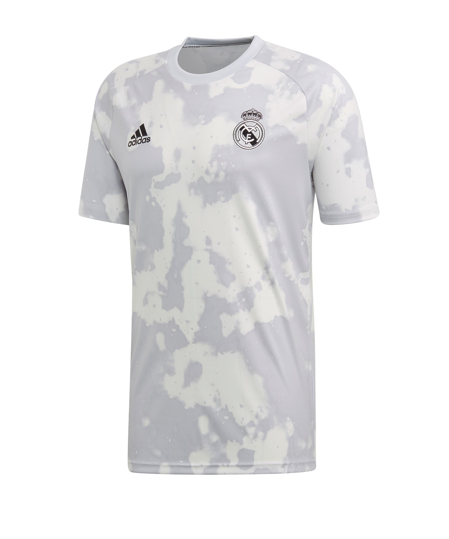 adidas Real Madrid Prematch Shirt Grau